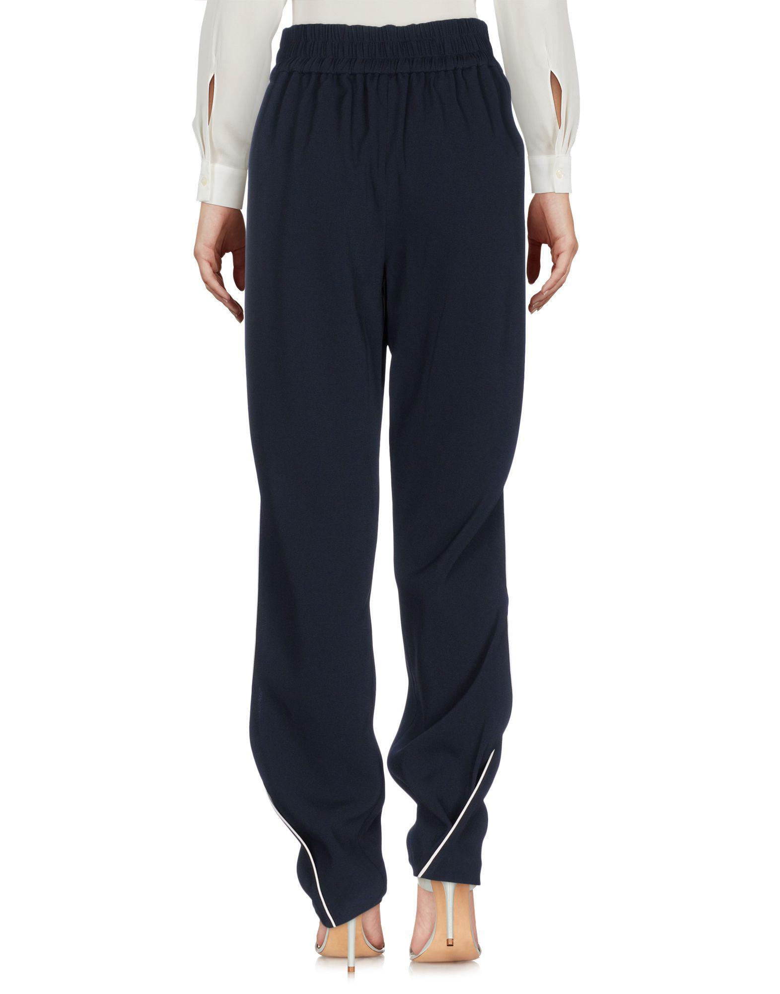Pantalon Synthétique Jonathan Simkhai en coloris Bleu