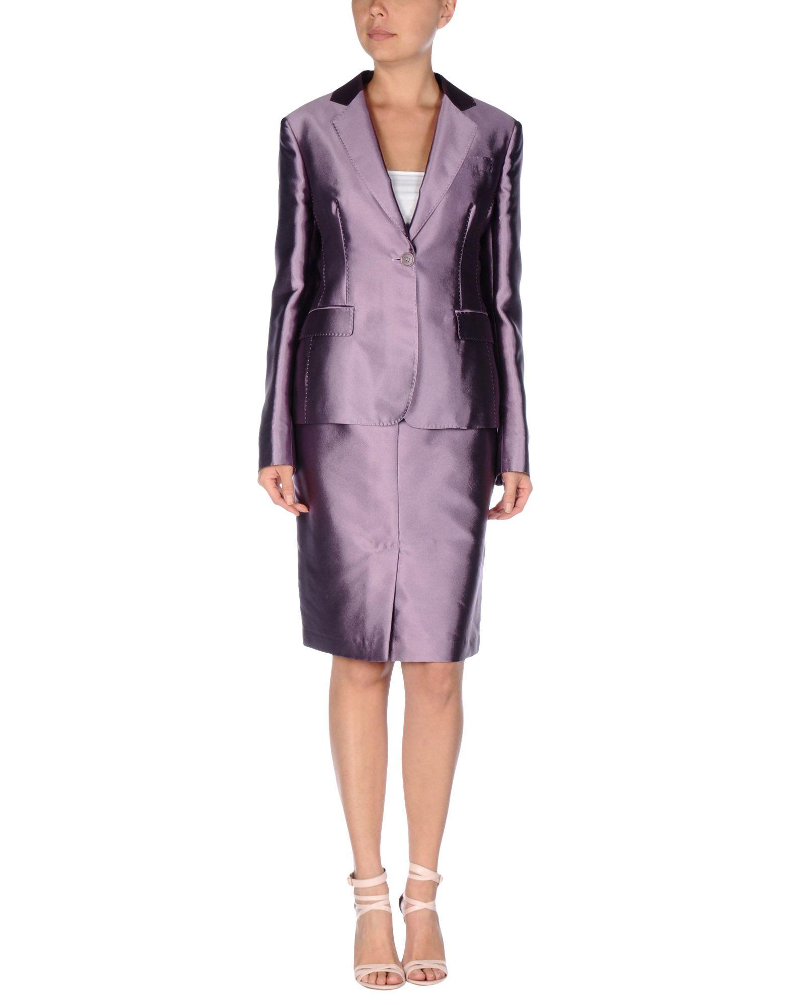 aspesi womens suit in purple lyst