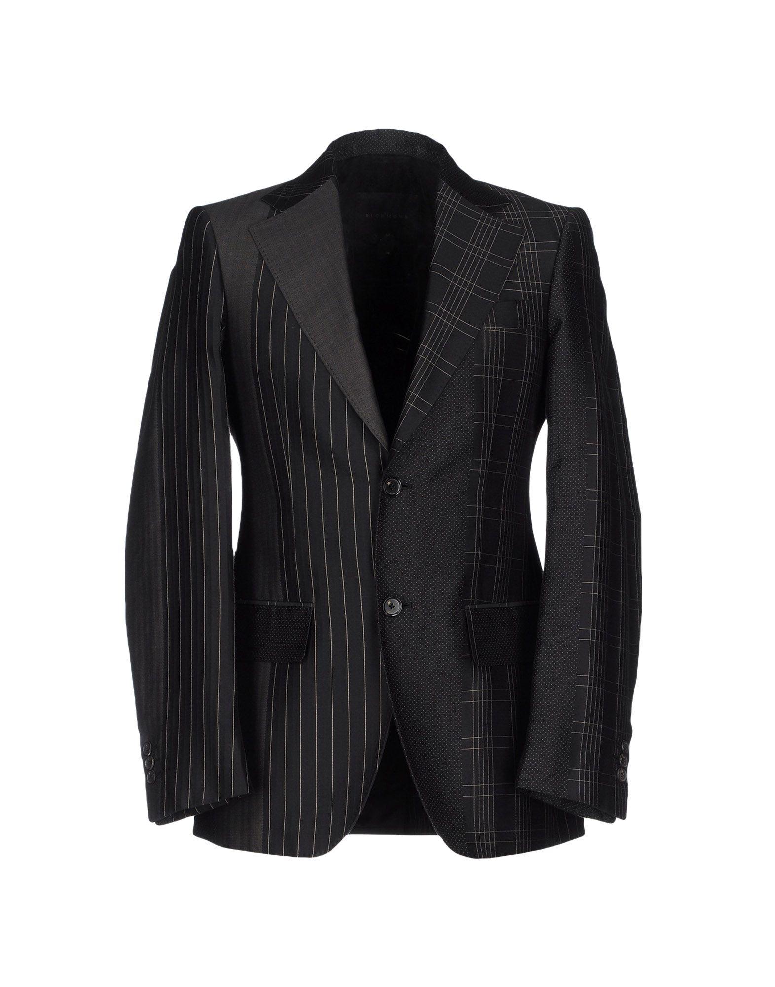 Lyst John Richmond Blazer In Black For Men