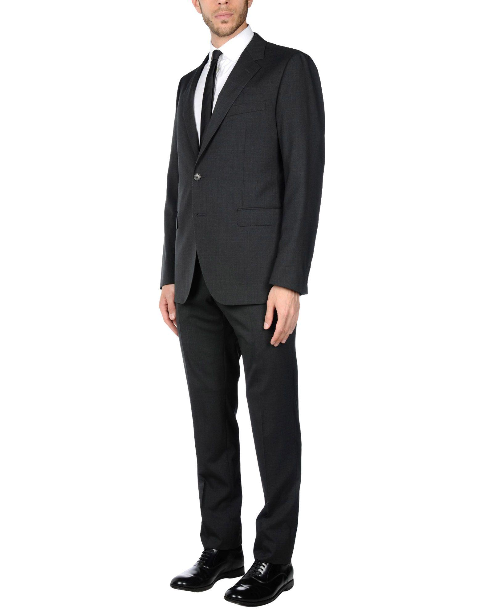 what haircut suits me lyst lanvin suit in gray for 2467