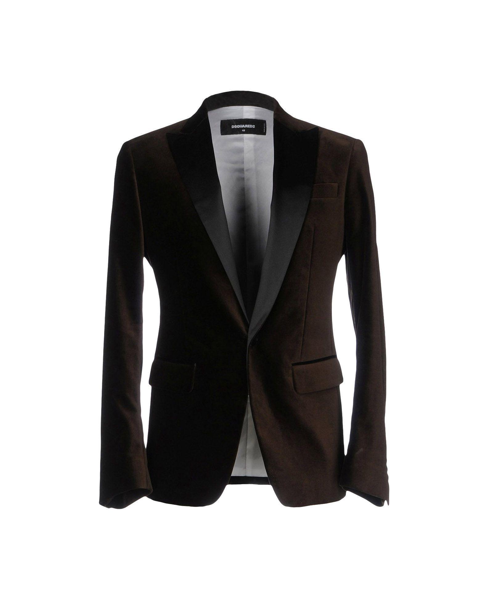 Lyst Dsquared 178 Blazer In Brown For Men