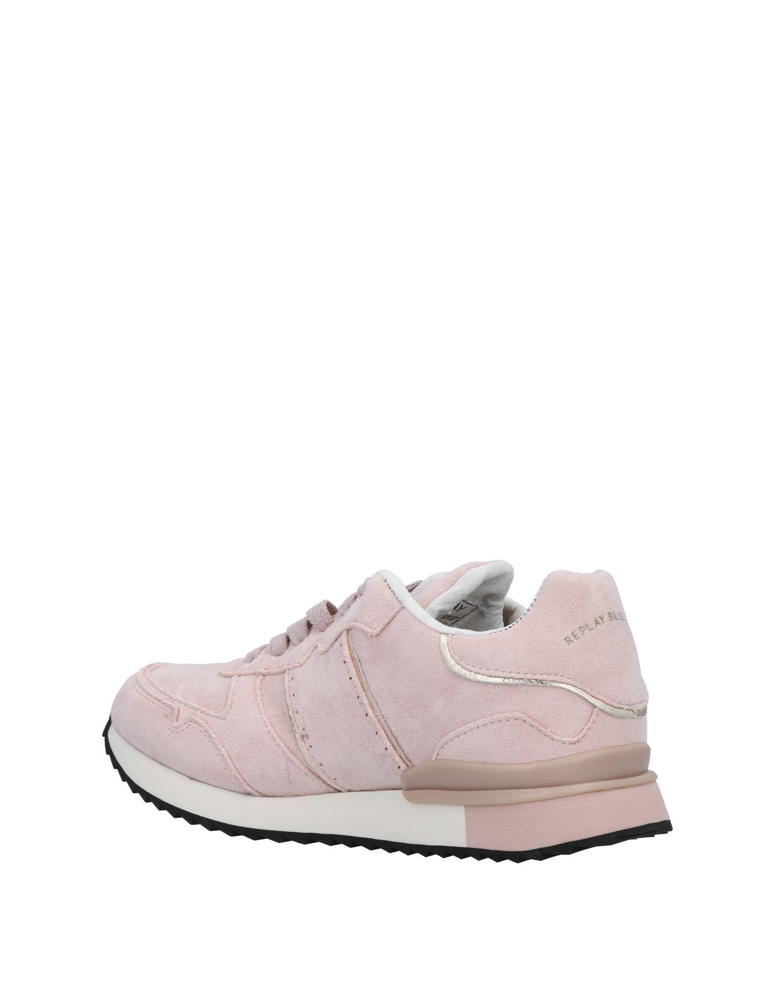 Replay Synthetic Low-tops & Sneakers in Pink
