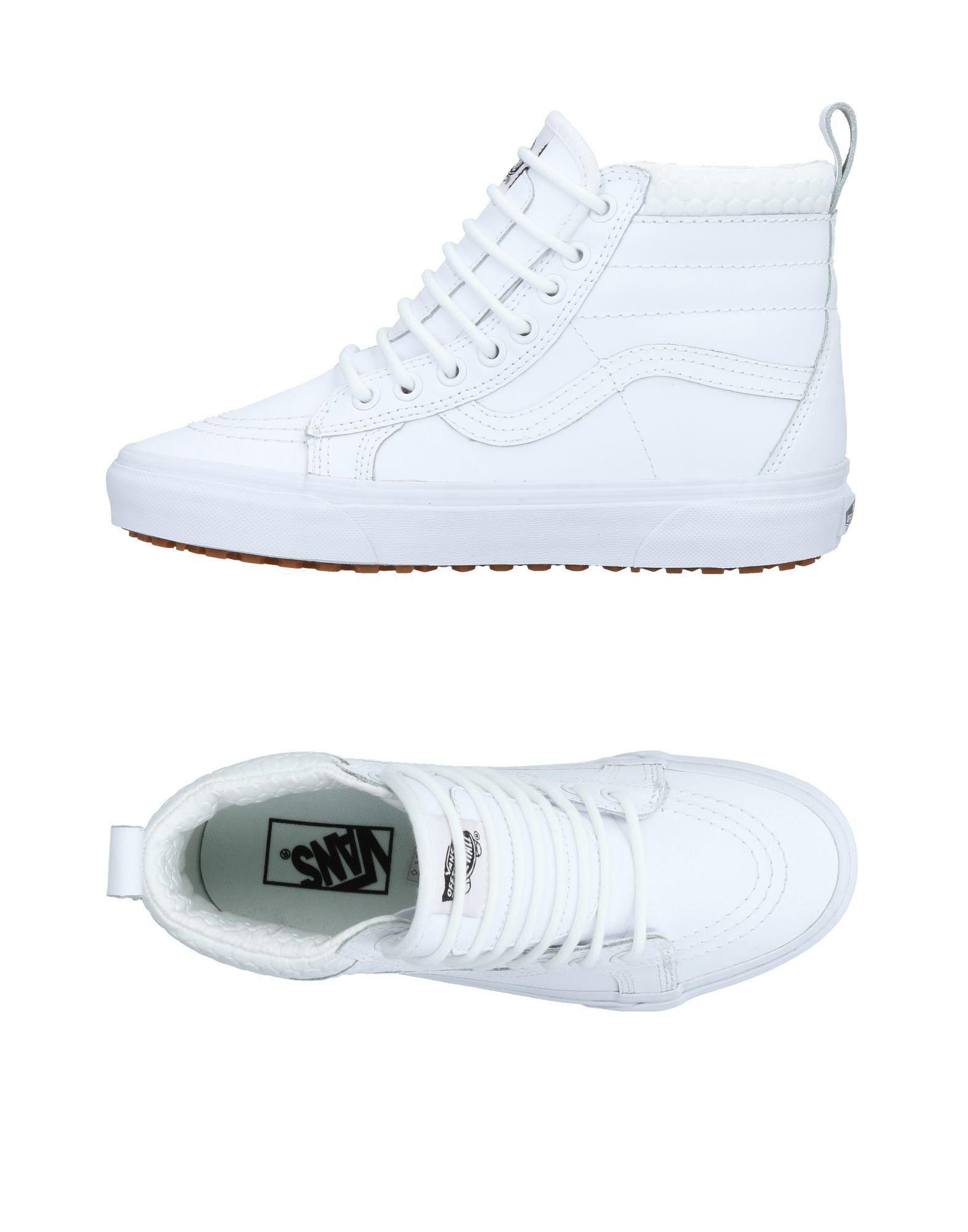 c17217d105eee2 Vans High-tops   Sneakers in White - Lyst