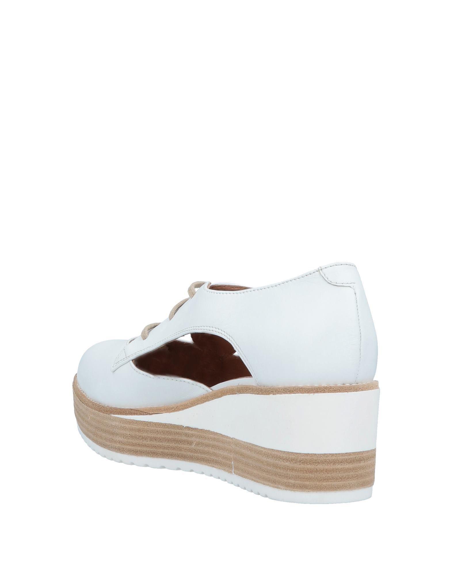 Zapatos de cordones Janet & Janet de color Blanco