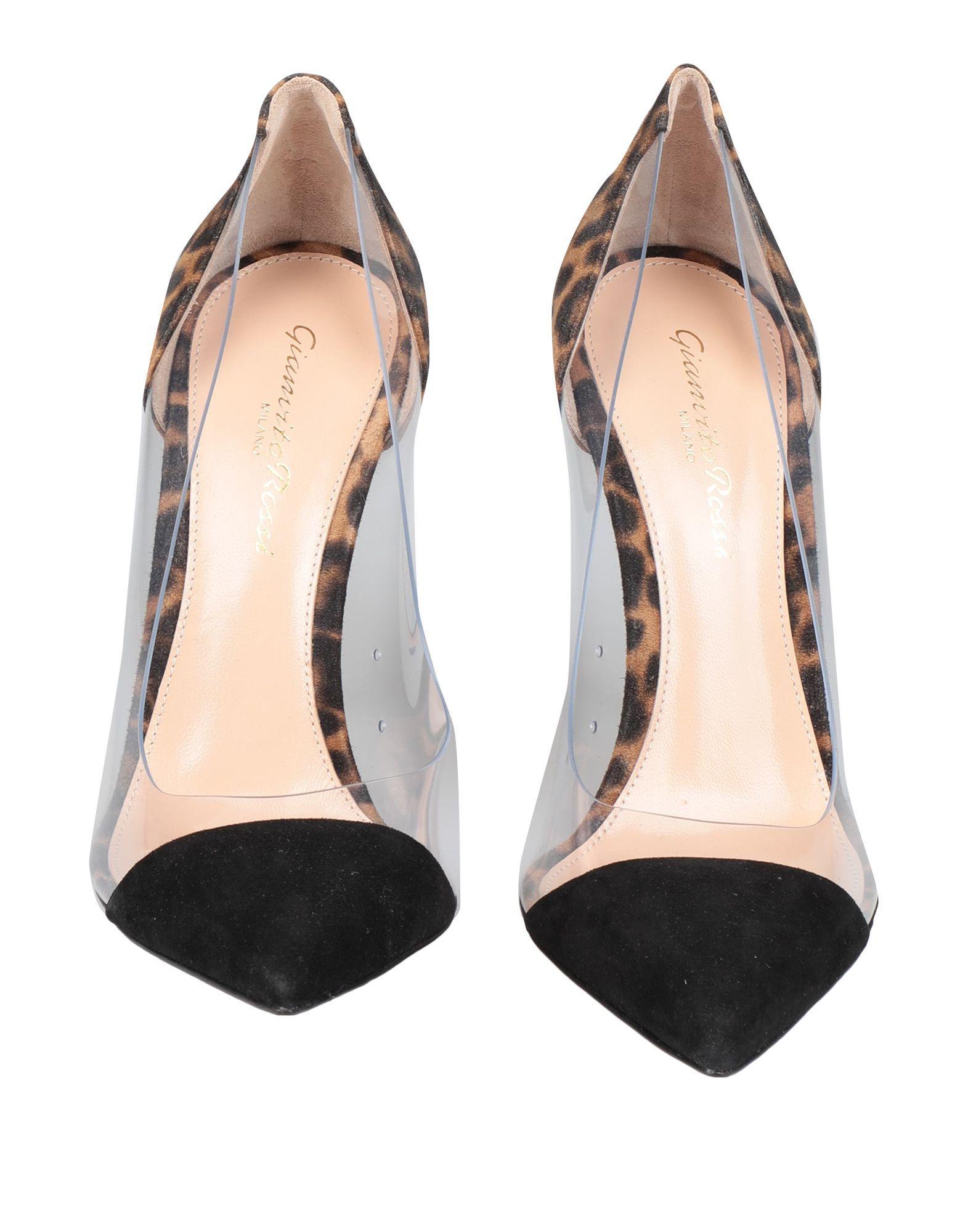 Zapatos de salón Gianvito Rossi de Ante de color Negro