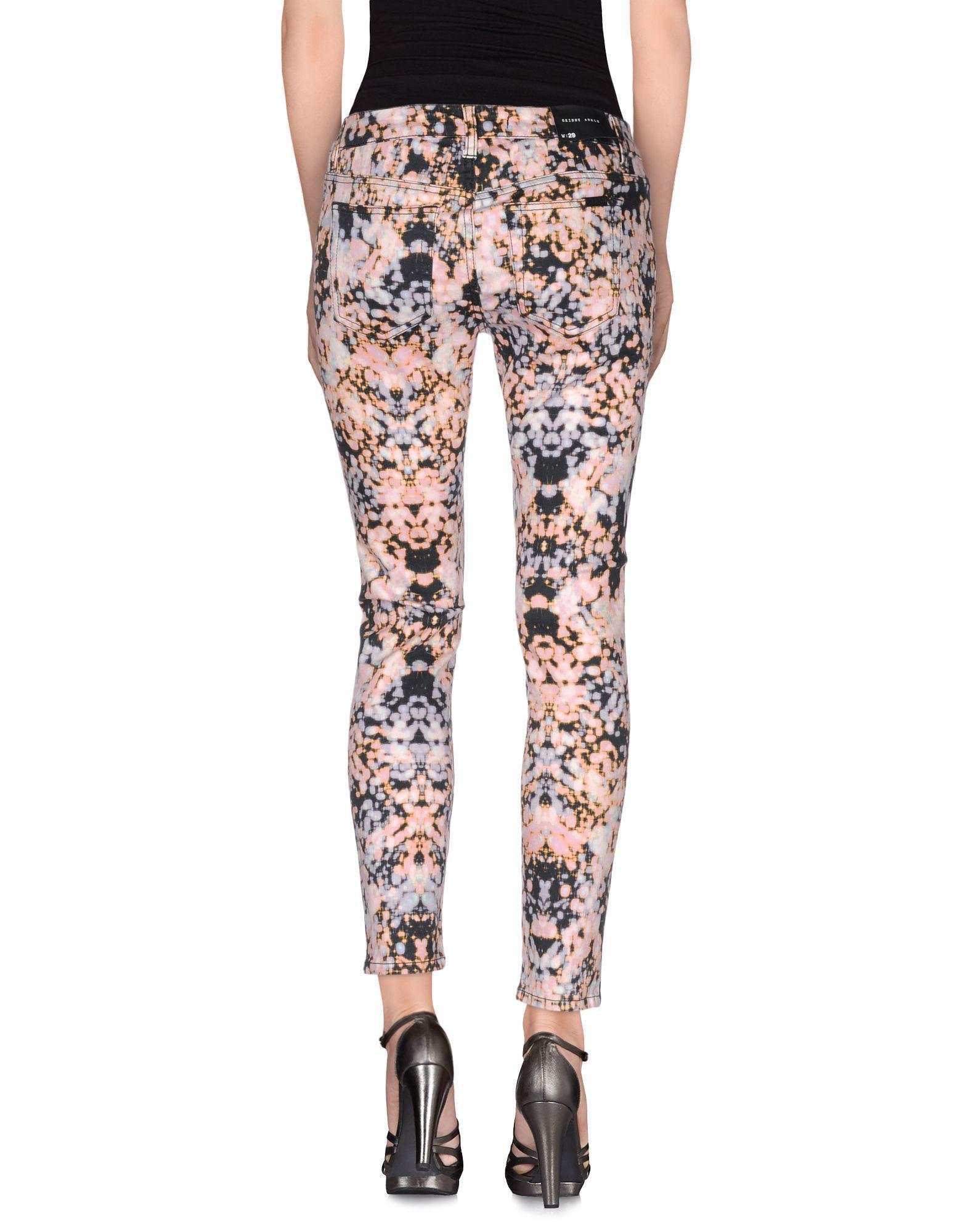 Joe's Jeans Denim Trousers in Lilac (Purple)