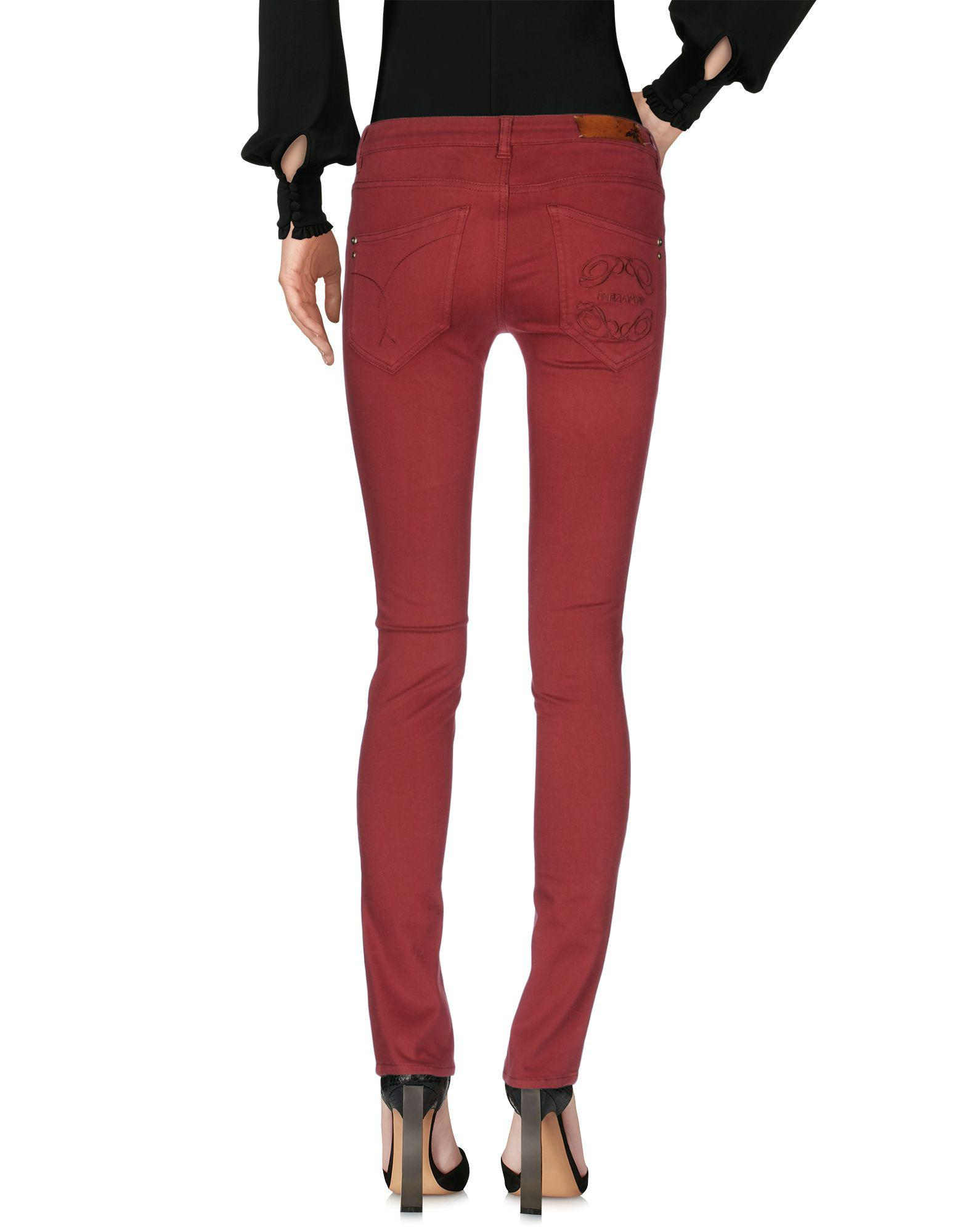 Pepe Jeans Cotton Casual Trouser in Maroon (Red)