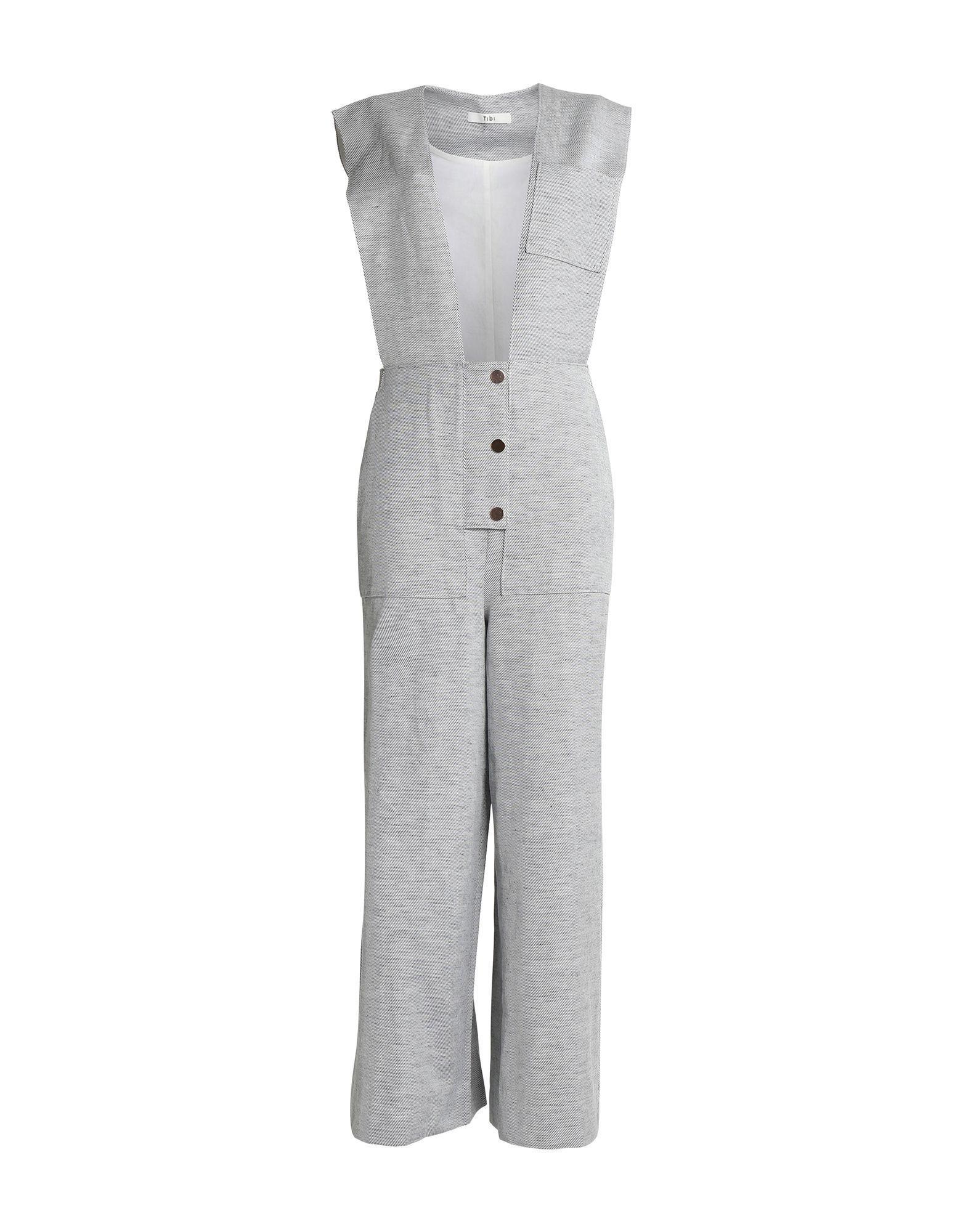 TOGIC Unique Floral Printed Jumpsuit Women Halter Sleeveless Wide Long Pants Jumpsuit White Navy Long Jumpsuit