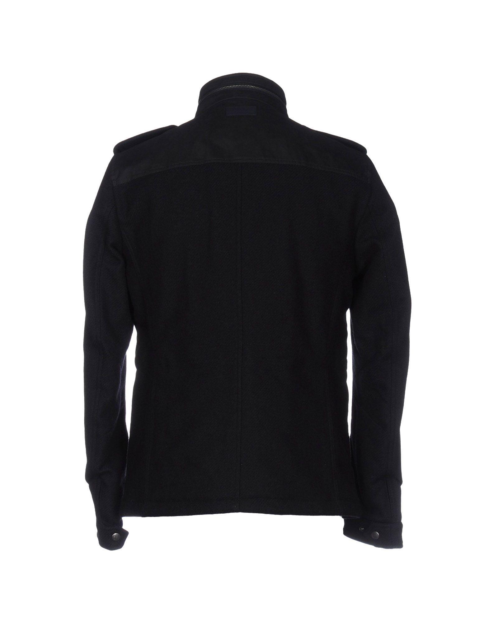 Dondup Flannel Jacket in Dark Blue (Blue) for Men