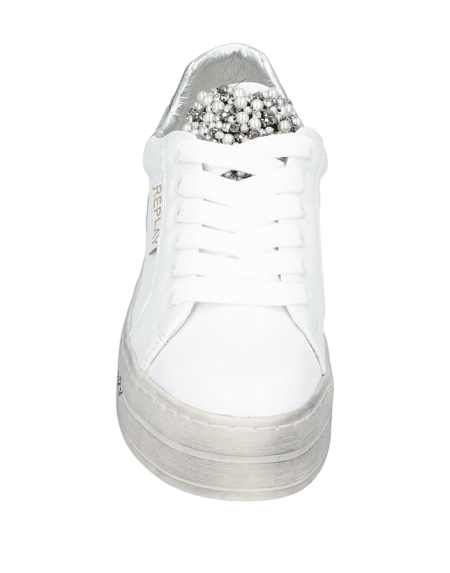 Sneakers & Deportivas Replay de color Blanco