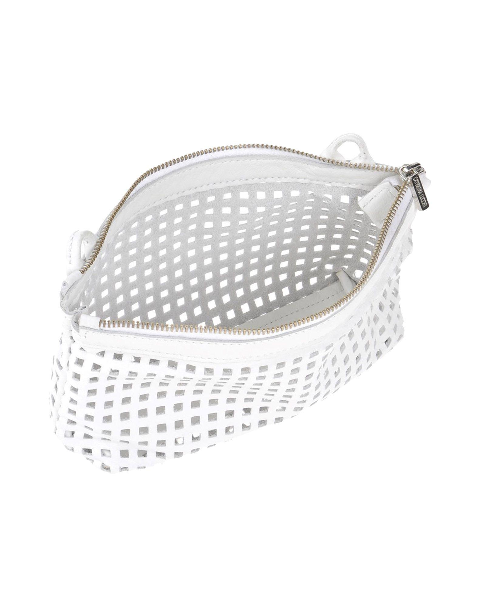 Caterina Lucchi Leather Cross-body Bag in White