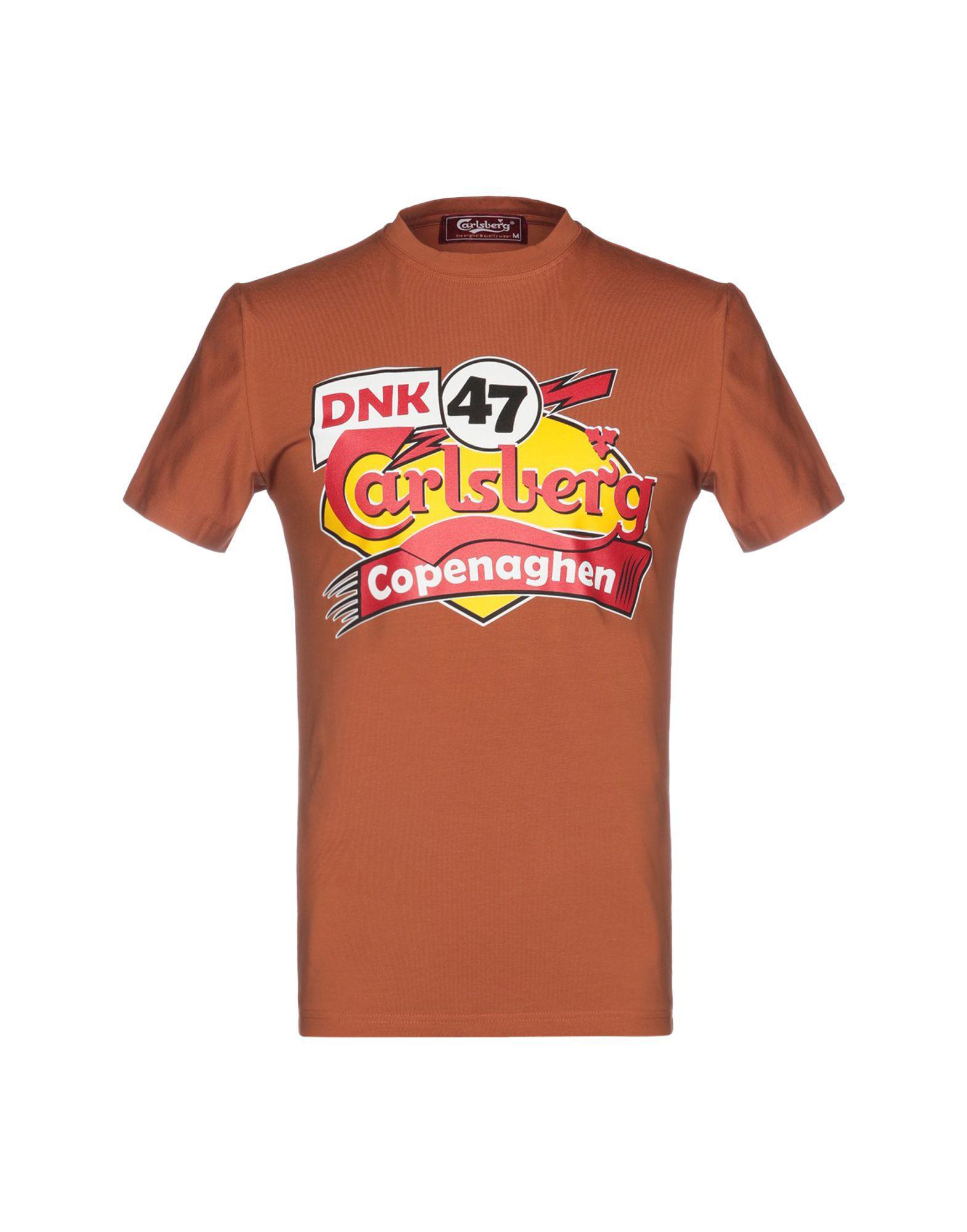 8ad01f5ec6753 Lyst - T-shirt Carlsberg pour homme en coloris Marron