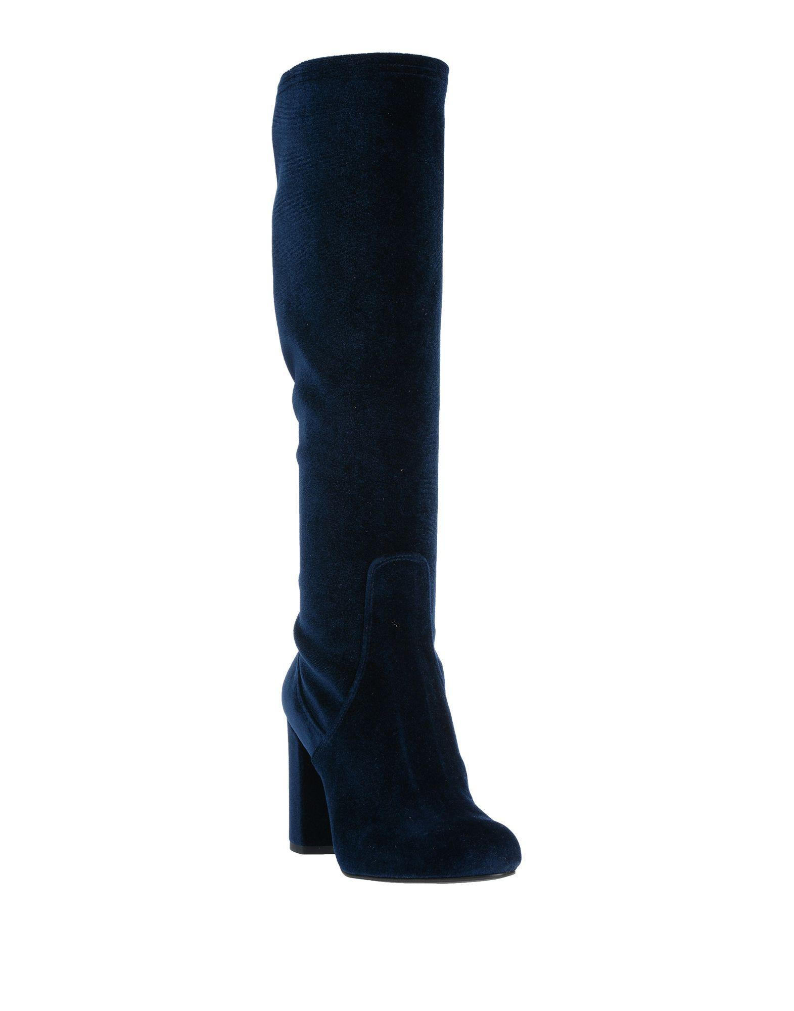 Botas Stele de Terciopelo de color Azul