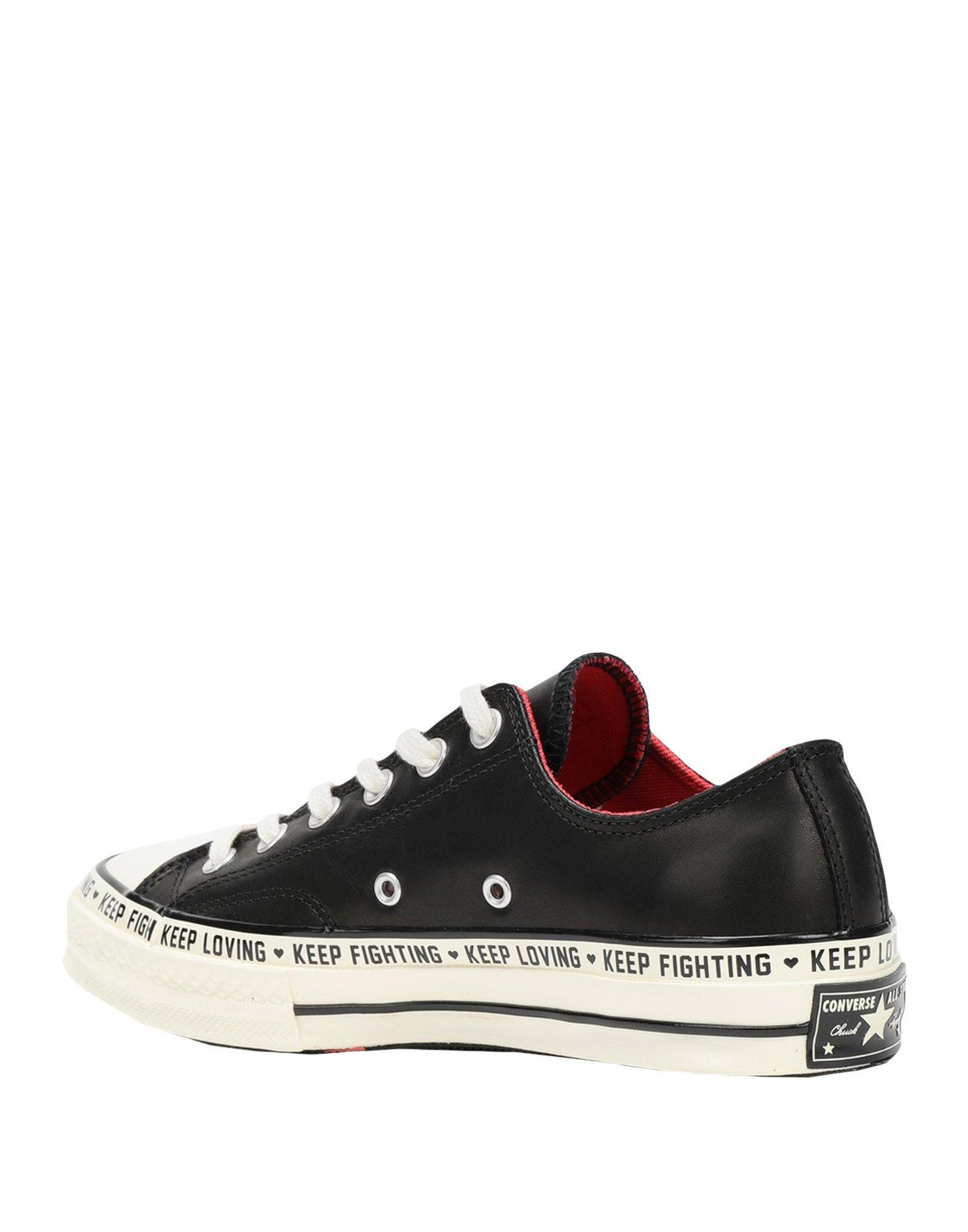 Sneakers & Deportivas Converse de color Negro