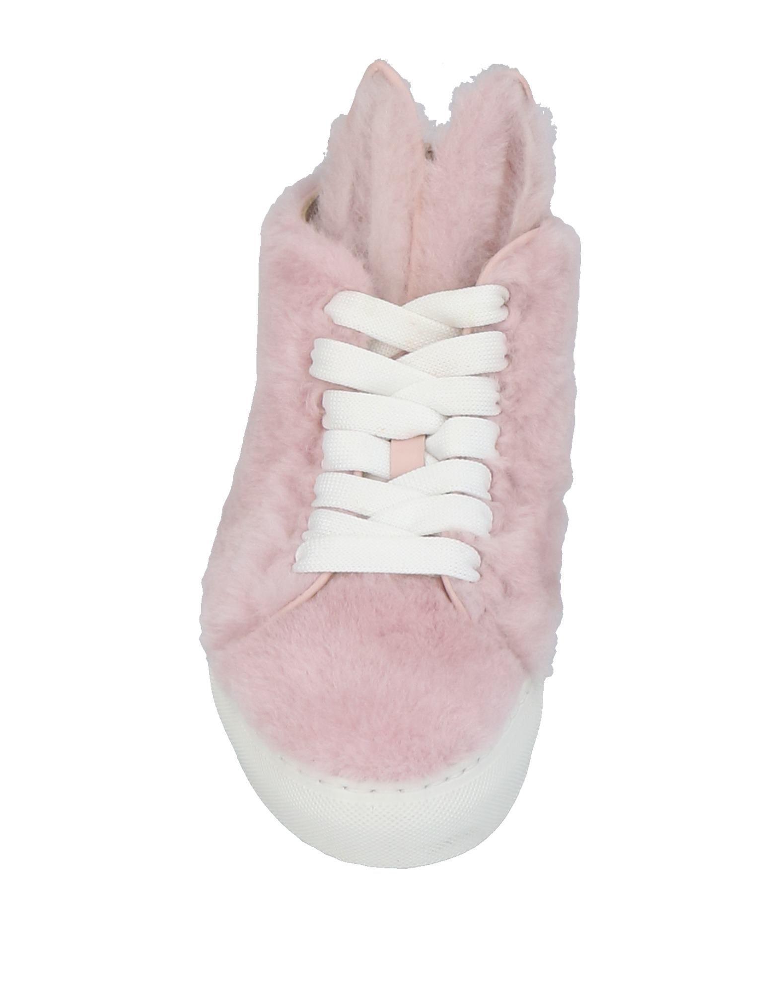 Minna Parikka Leather High-tops & Sneakers in Light Pink (Pink)