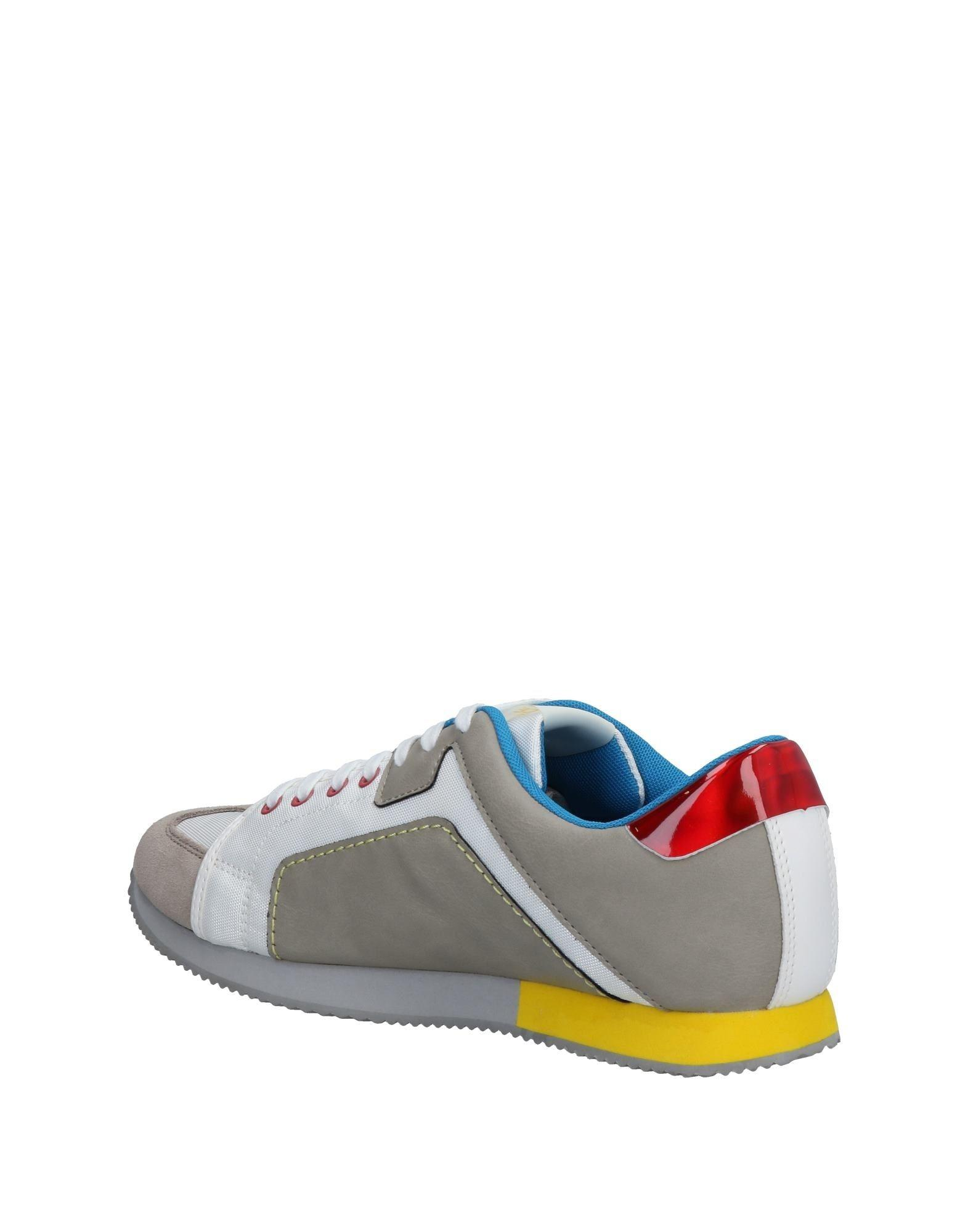 Versace Jeans Couture Leather Low-tops & Sneakers in Grey