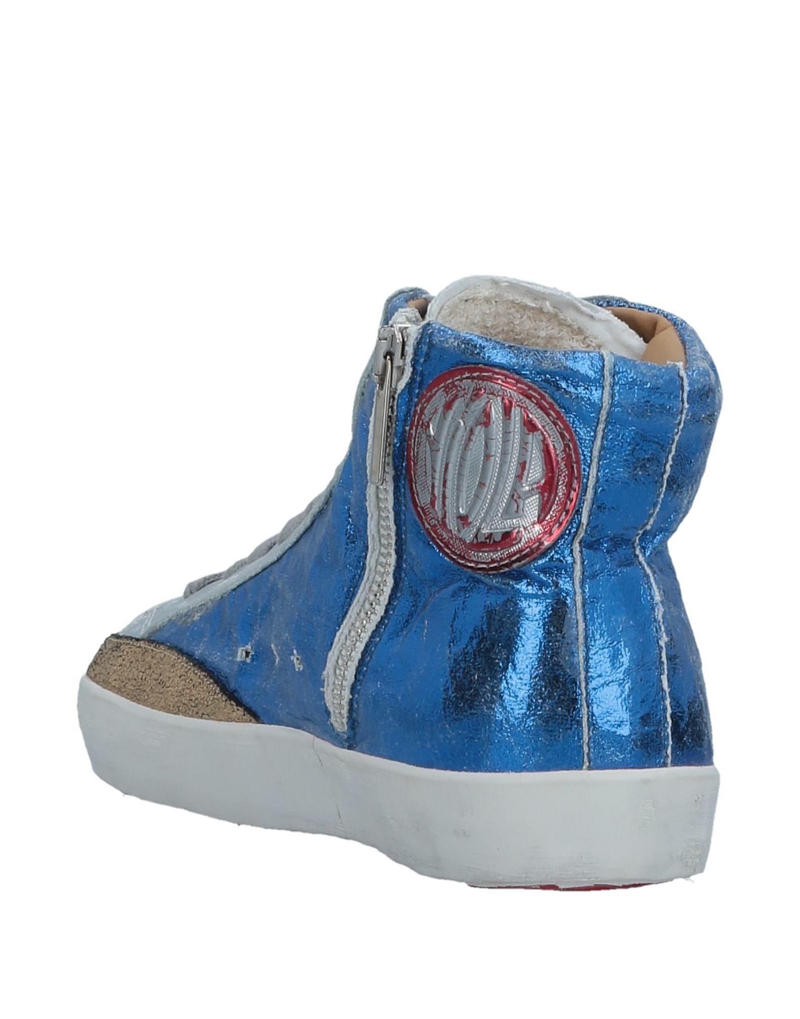 Ishikawa Leather High-tops & Sneakers in Blue
