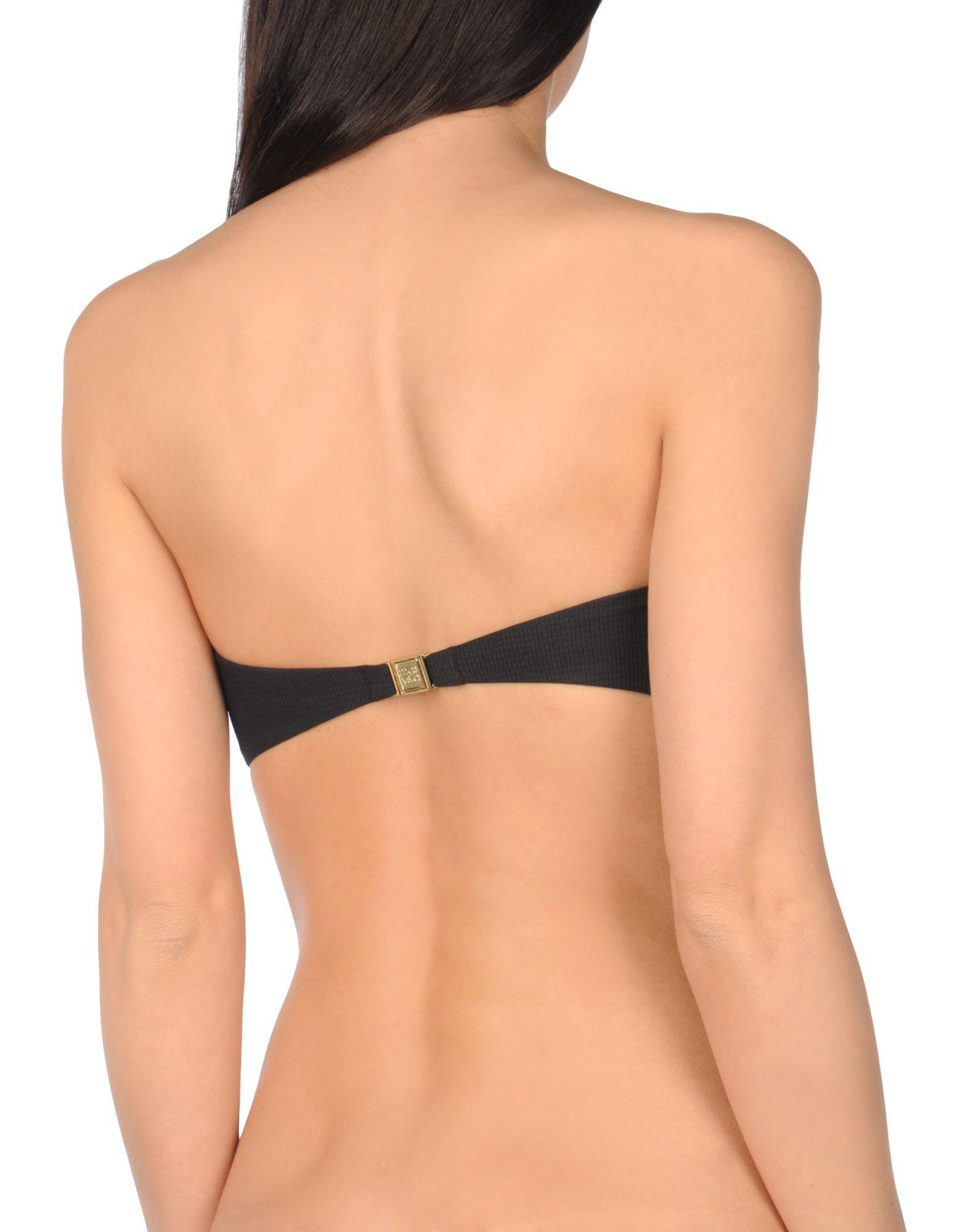98ab2c19218 Marysia Swim Bikini Top in Black - Lyst