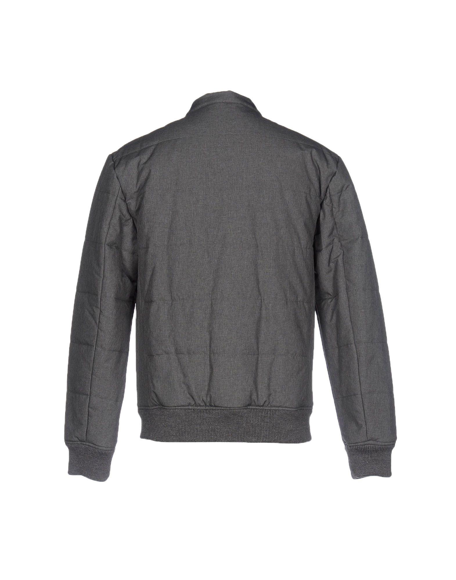 Frankie Morello Synthetic Jackets in Grey (Grey) for Men
