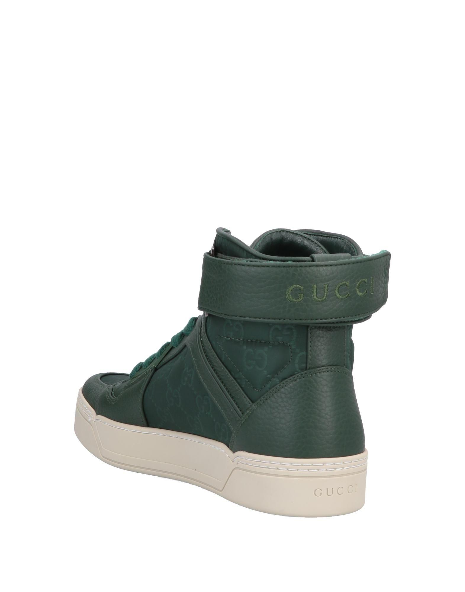 eee800a052d9 Gucci High-tops   Sneakers in Green for Men - Lyst