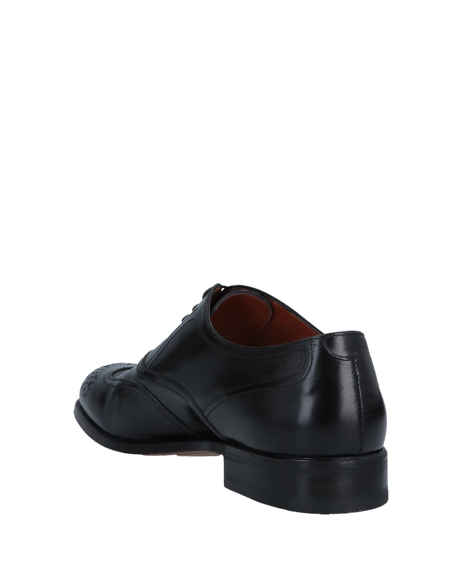 Zapatos de cordones Moreschi de Cuero de color Negro para hombre