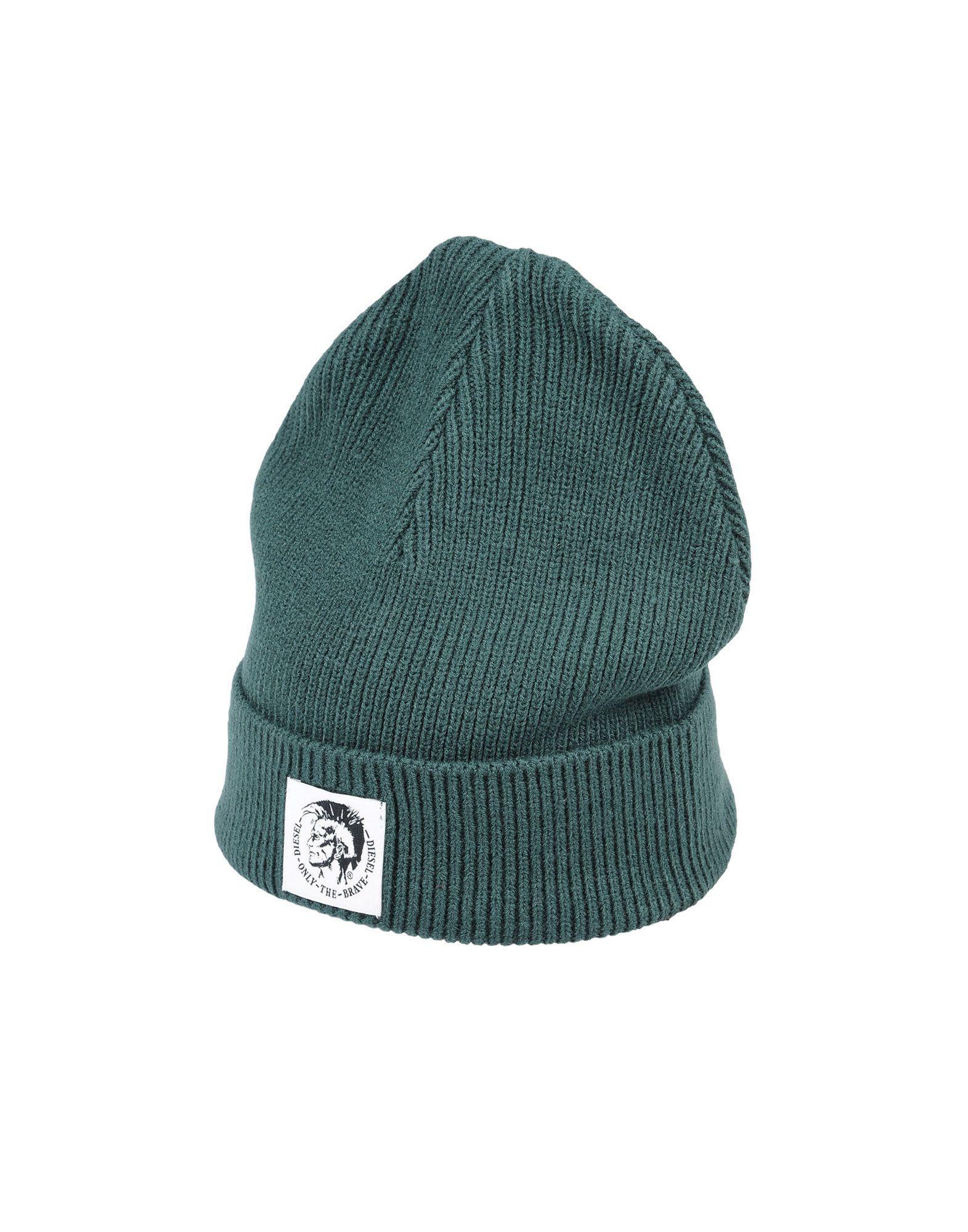 943a4653525 Lyst - Diesel Hat in Green