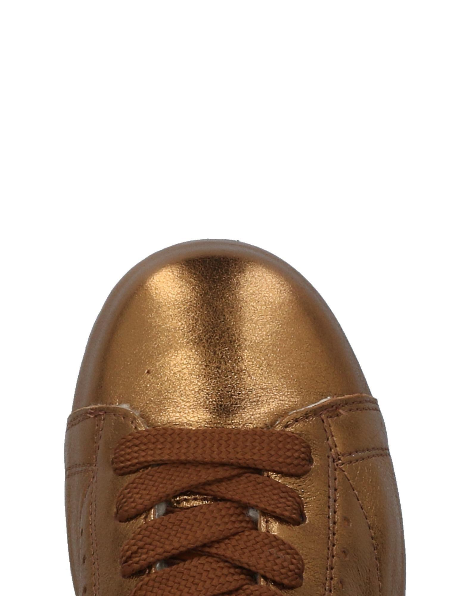 Khrio Leather Low-tops & Sneakers in Bronze (Brown)