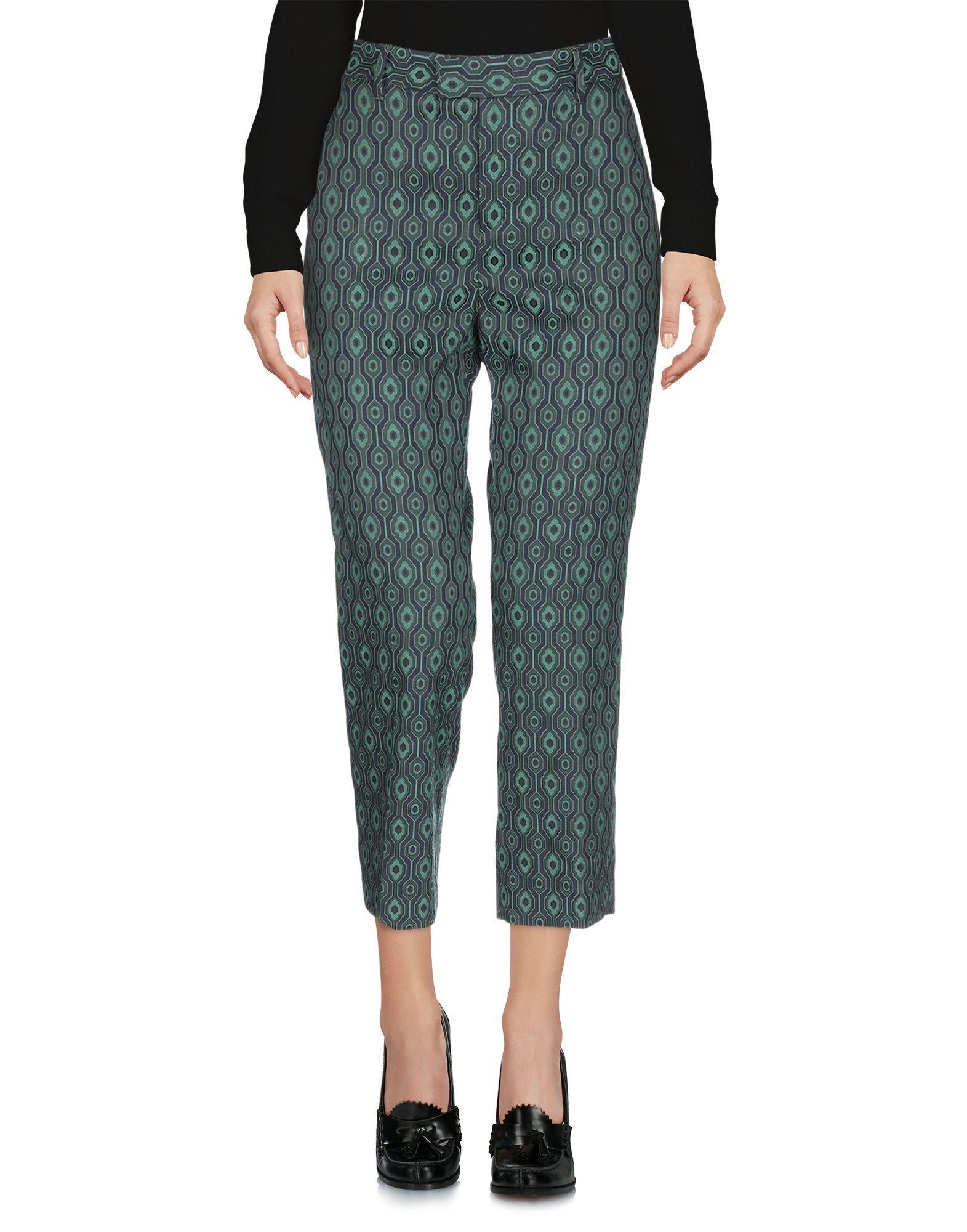 Pantalones piratas PT Torino de Tejido sintético de color Verde