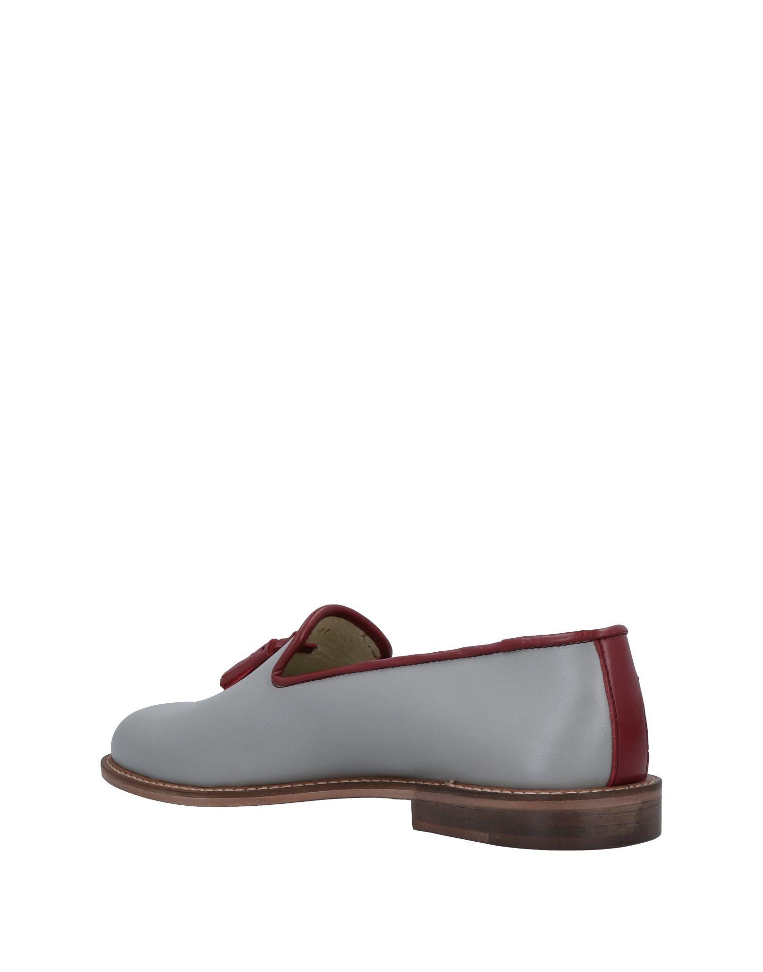 ( Verba ) Leather Loafer in Grey (Grey) for Men