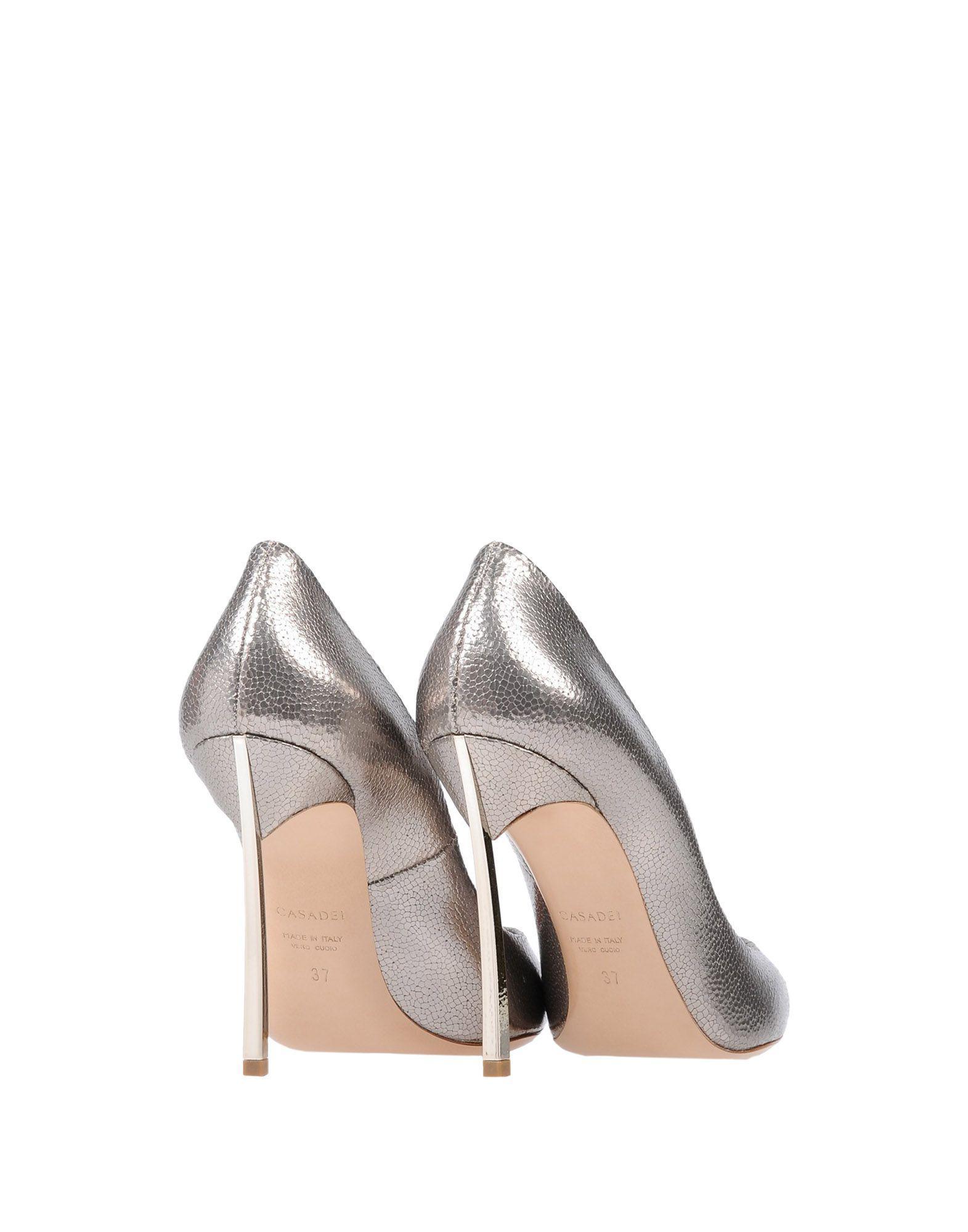 Zapatos de salón Casadei de color Metálico