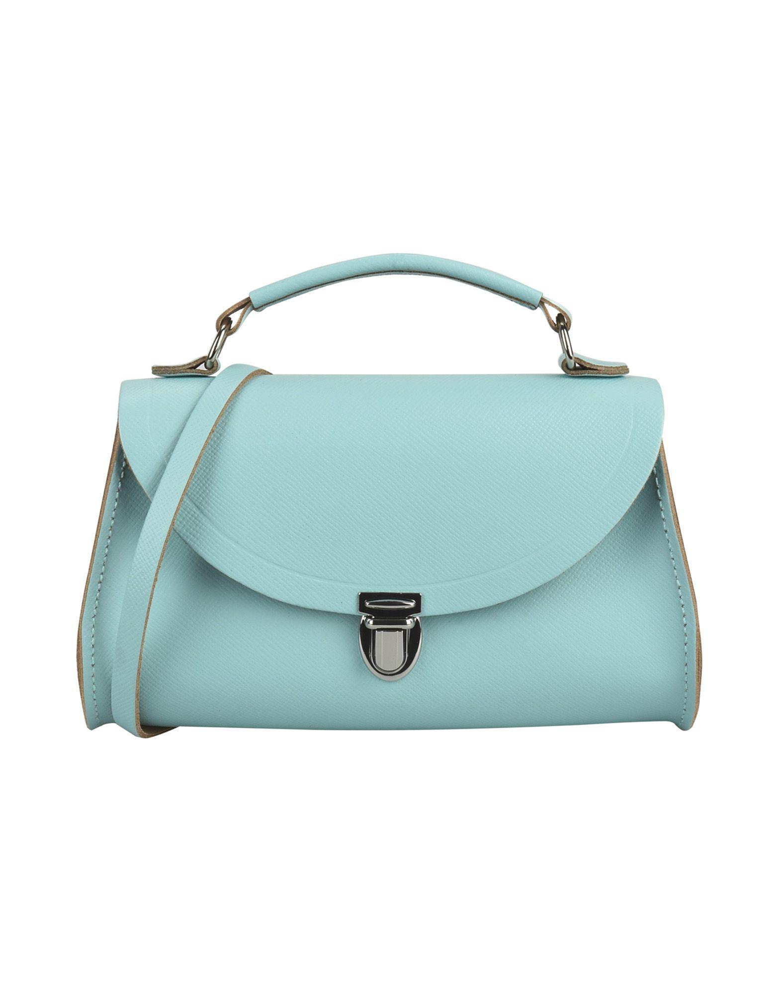 Satchel Sac Main Bleu Lyst Cambridge À Company Coloris En pUSzVM