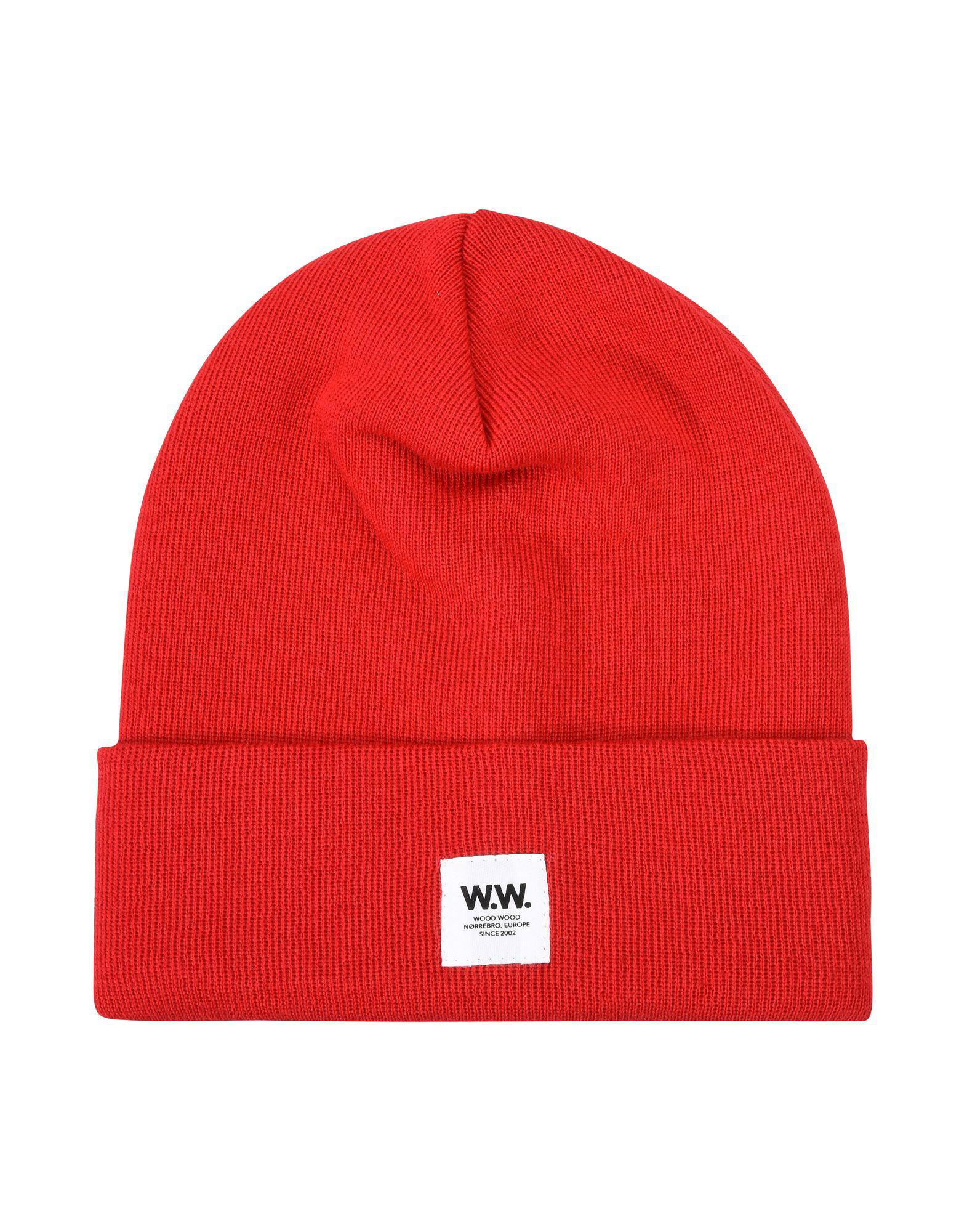 Lyst - WOOD WOOD Hat in Red for Men 53905509d687