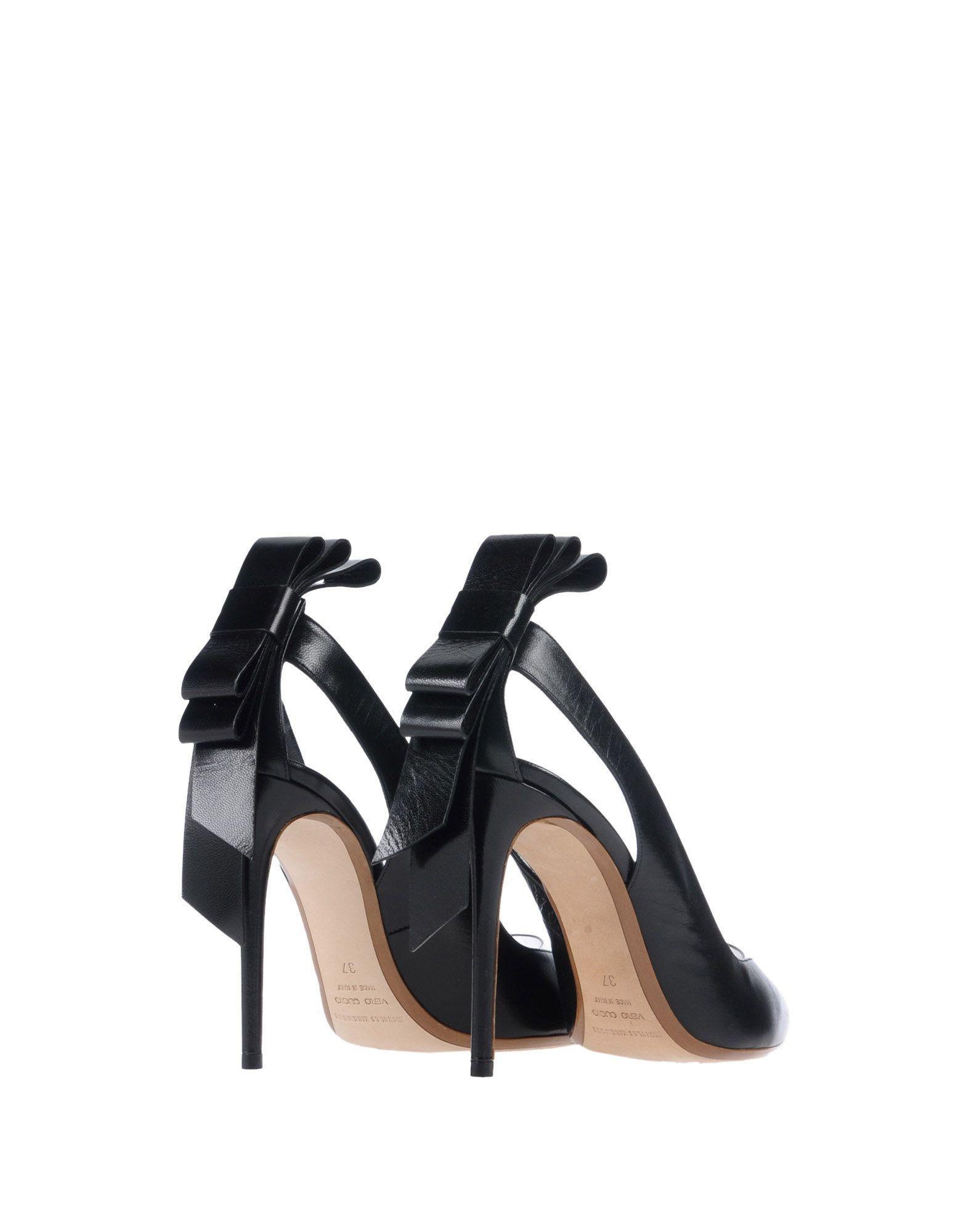 Zapatos de salón Nicholas Kirkwood de Cuero de color Negro
