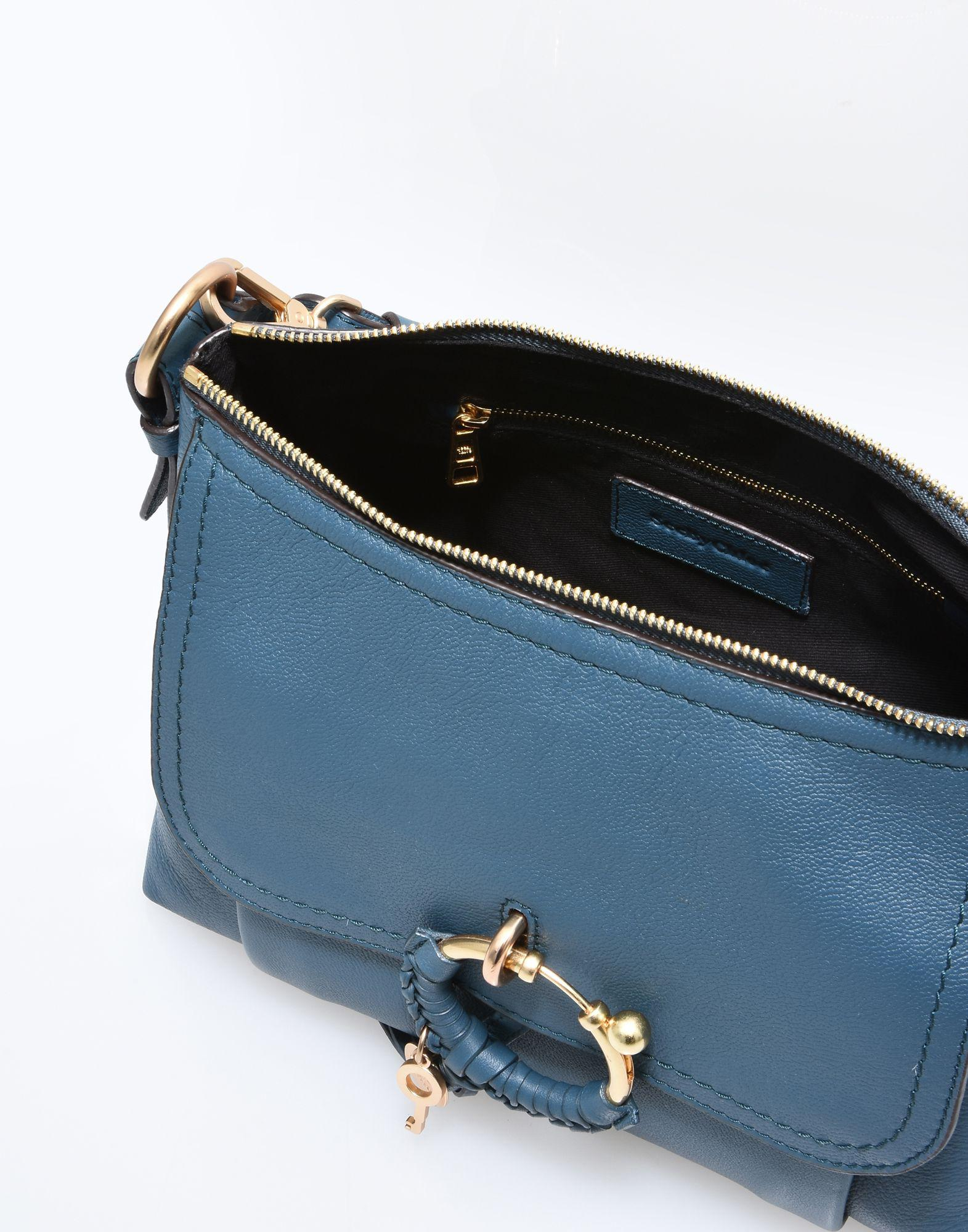 See By Chloé Leather Cross-body Bag in Deep Jade (Blue)