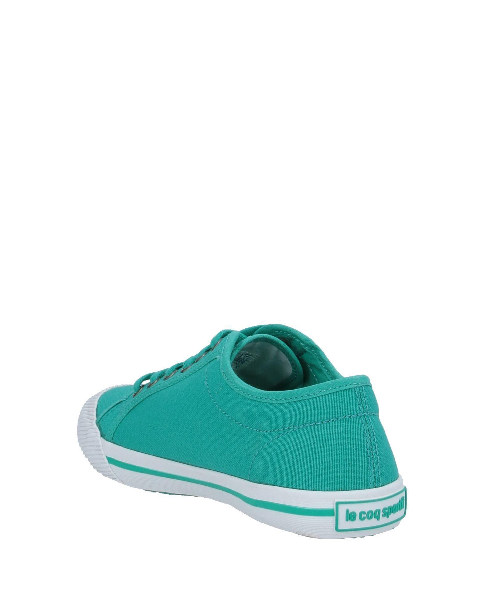 Sneakers & Deportivas Le Coq Sportif de Lona de color Verde