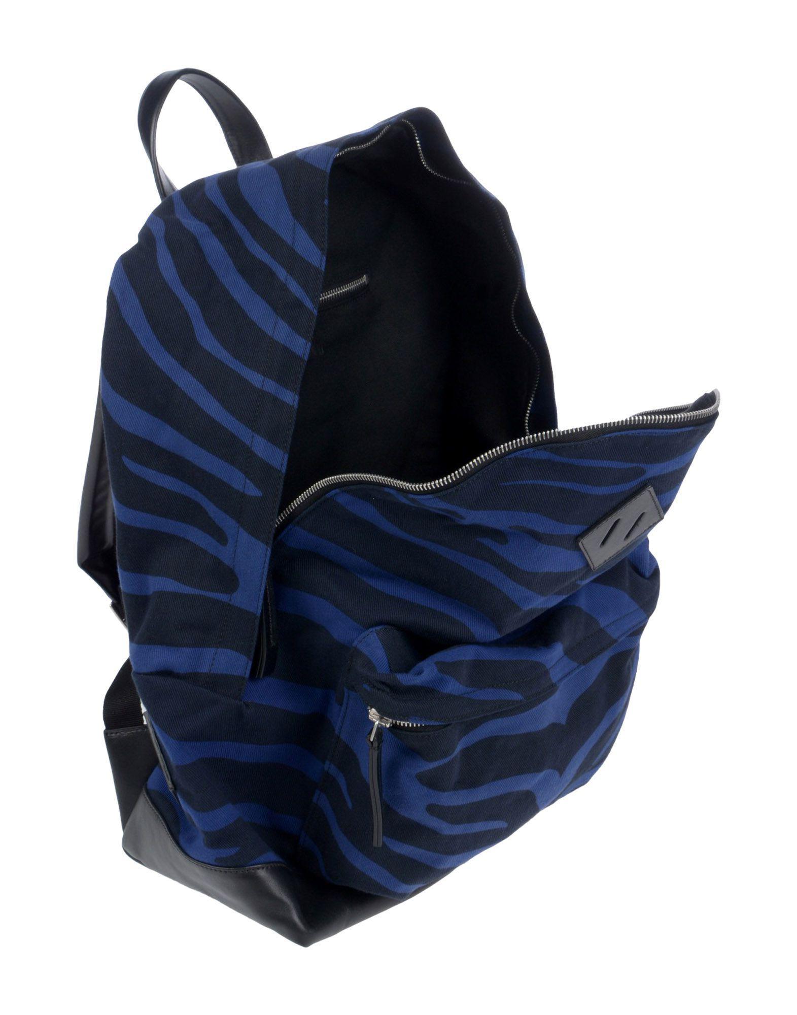 Golden Goose Deluxe Brand Leather Backpacks & Fanny Packs in Blue for Men