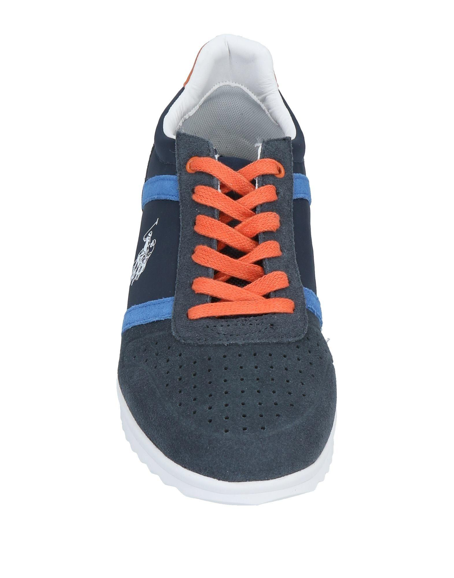 U.S. POLO ASSN. Leather Low-tops & Sneakers in Dark Blue (Blue) for Men