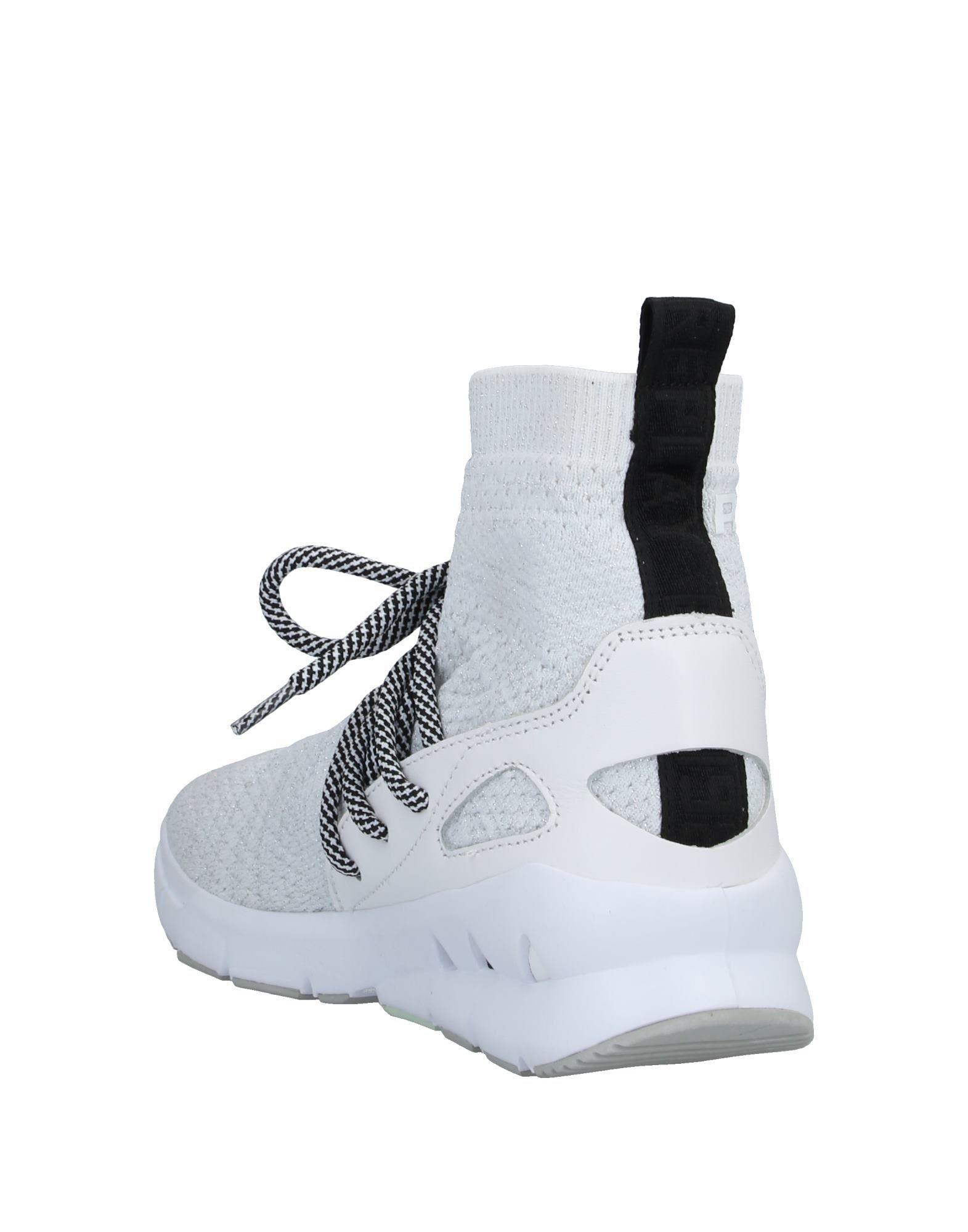 Sneakers abotinadas Replay de Caucho de color Blanco