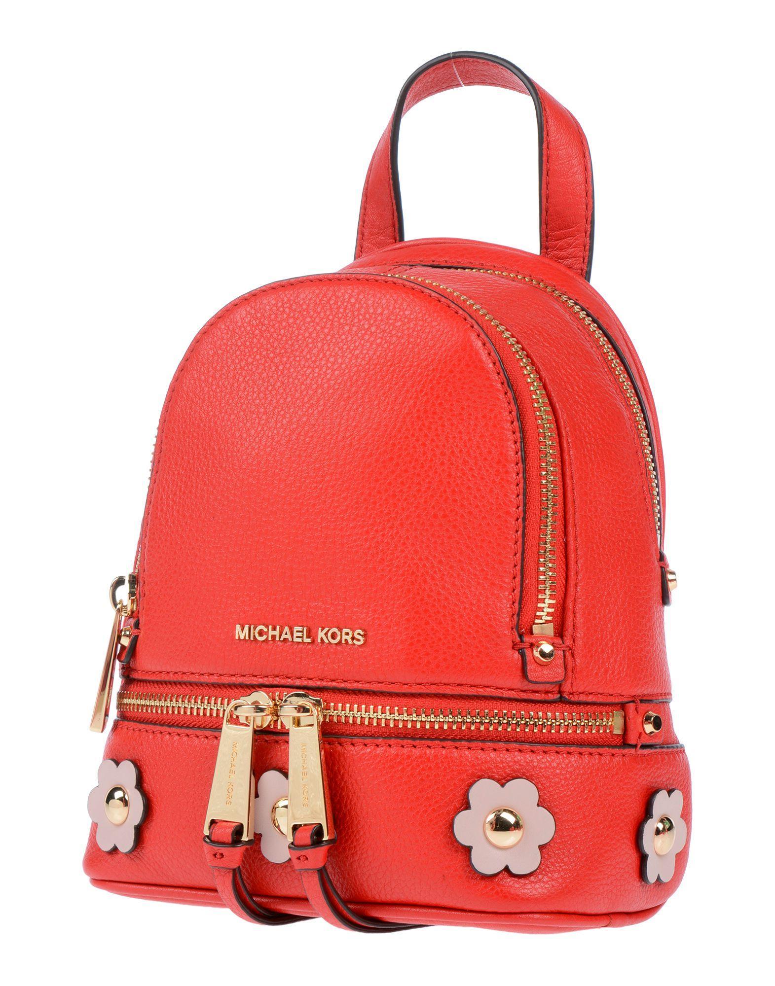994ed43c8a7e Michael Kors - Red Backpacks & Bum Bags - Lyst. View fullscreen
