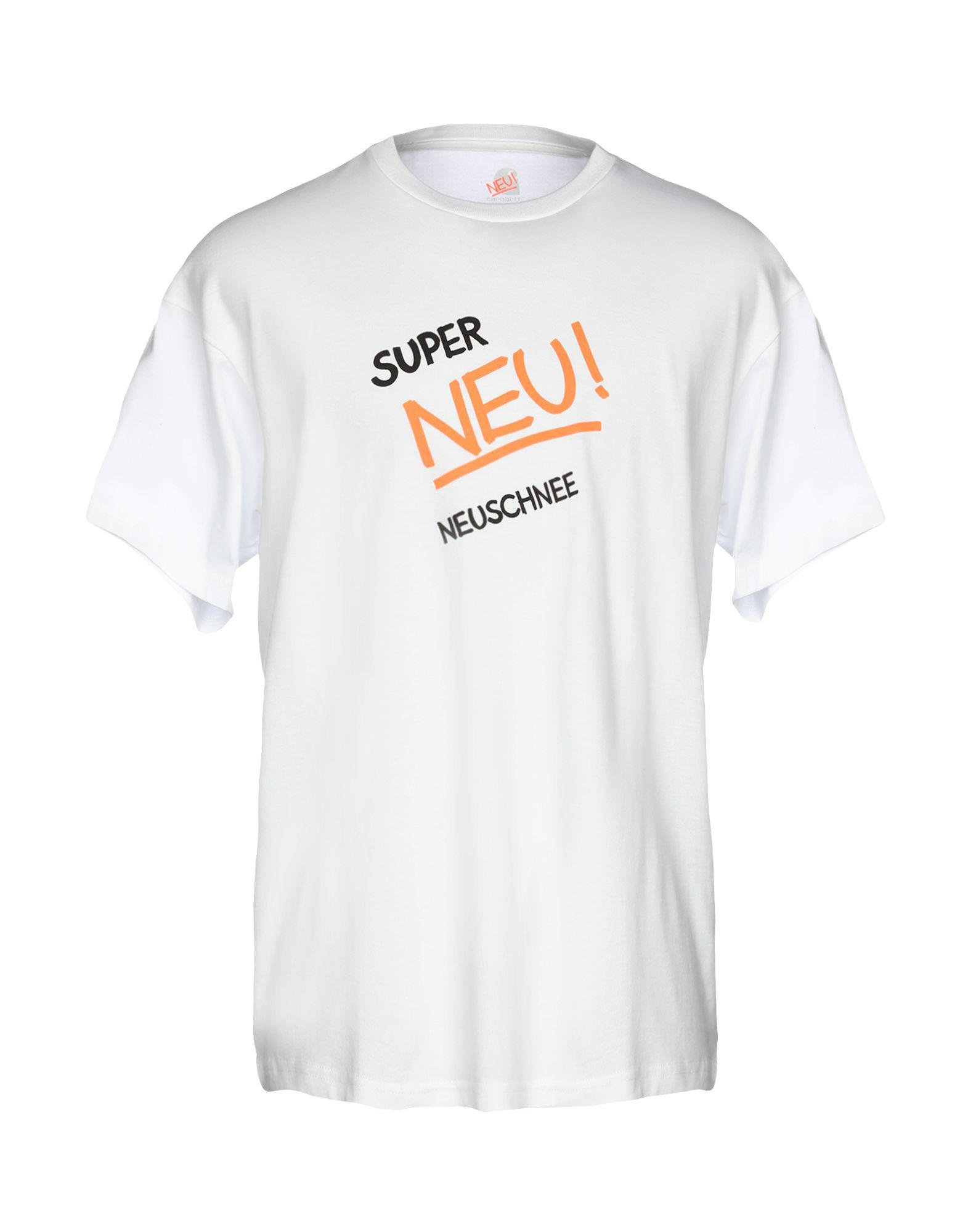 4f697b2a6 Lyst - Carhartt T-shirt in White for Men