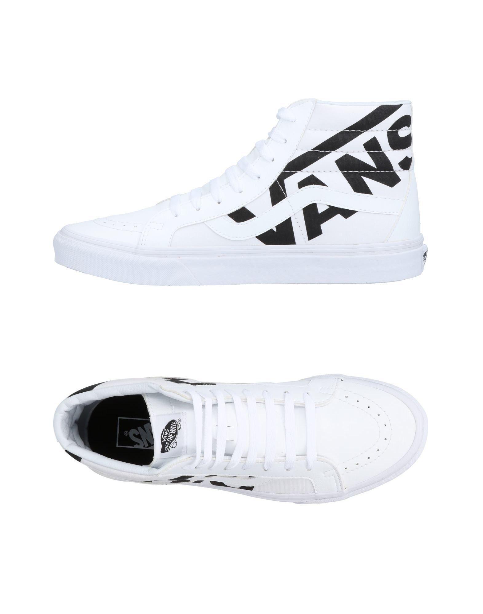 12c78954602 Vans - White High-tops   Sneakers for Men - Lyst. View fullscreen
