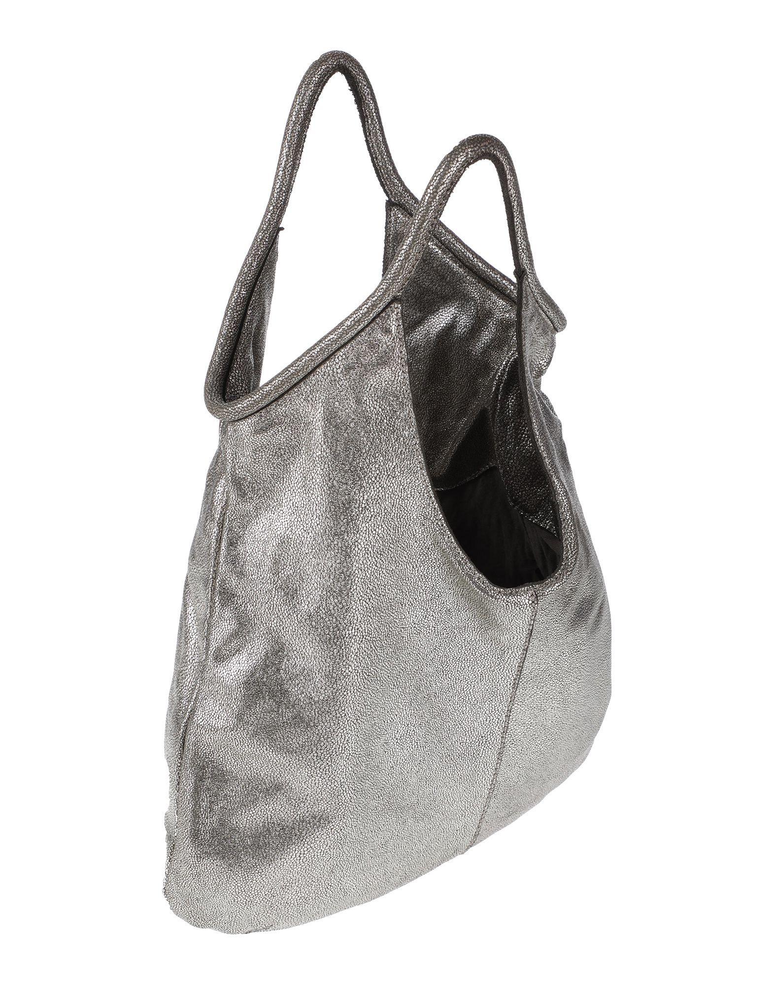 Caterina Lucchi Leder Handtaschen in Grau 1wVrN