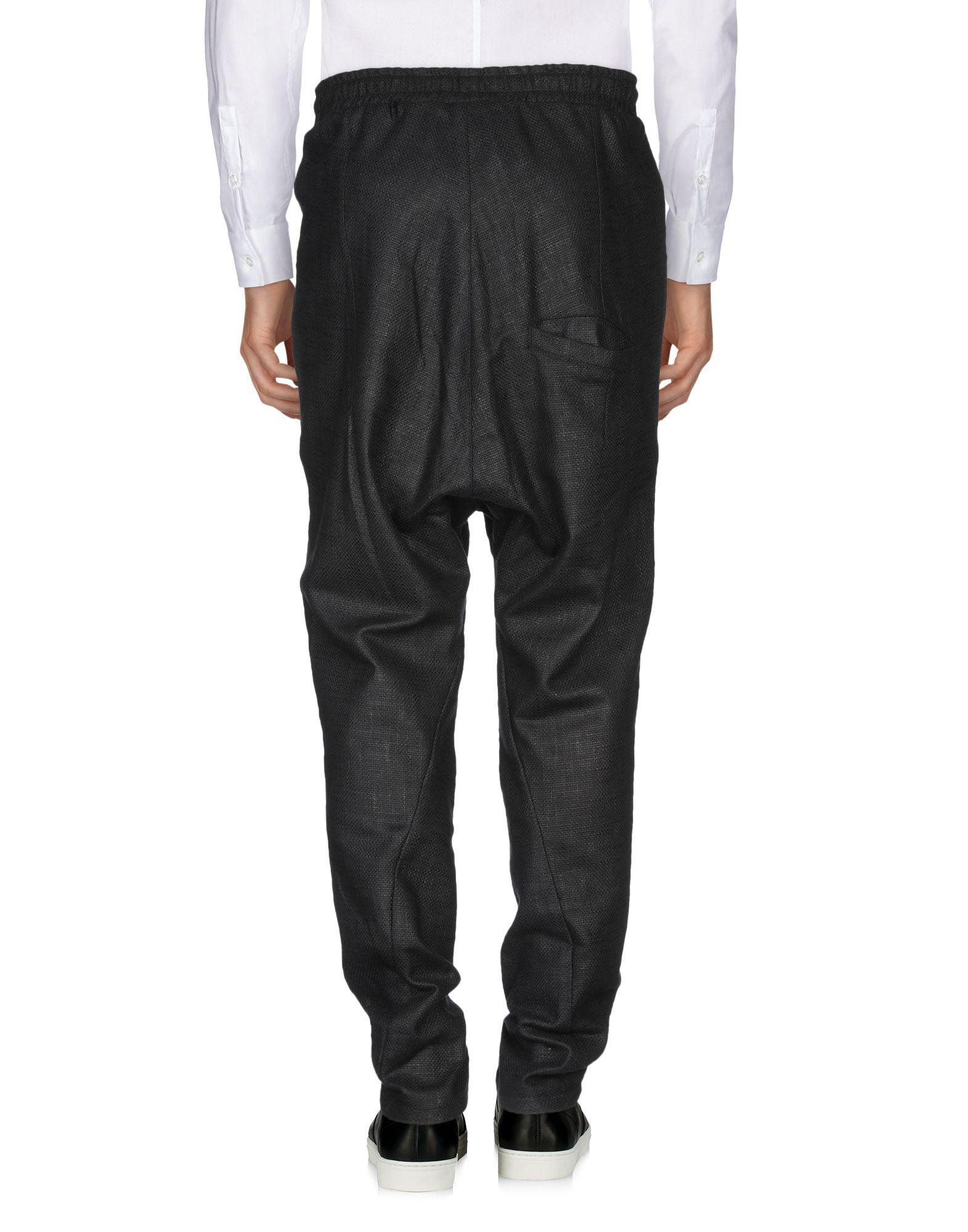 Army Of Me Cotton Casual Pants in Black for Men