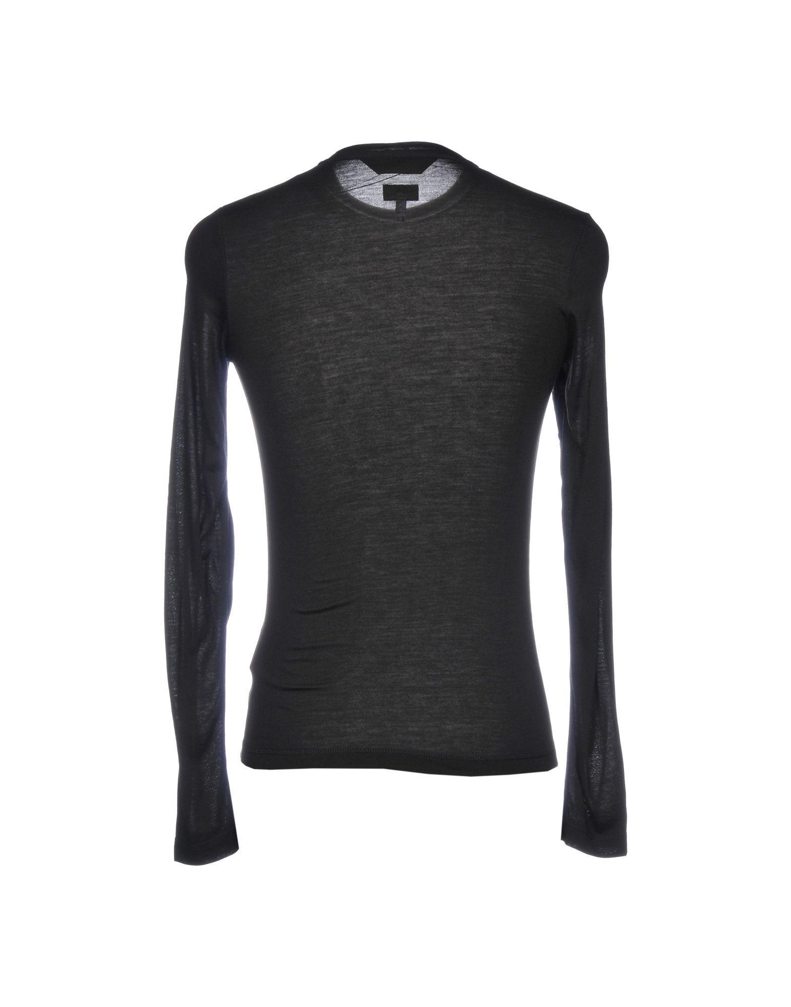 d4bb8b0600 Lyst - Armani Jeans T-shirt in Black for Men