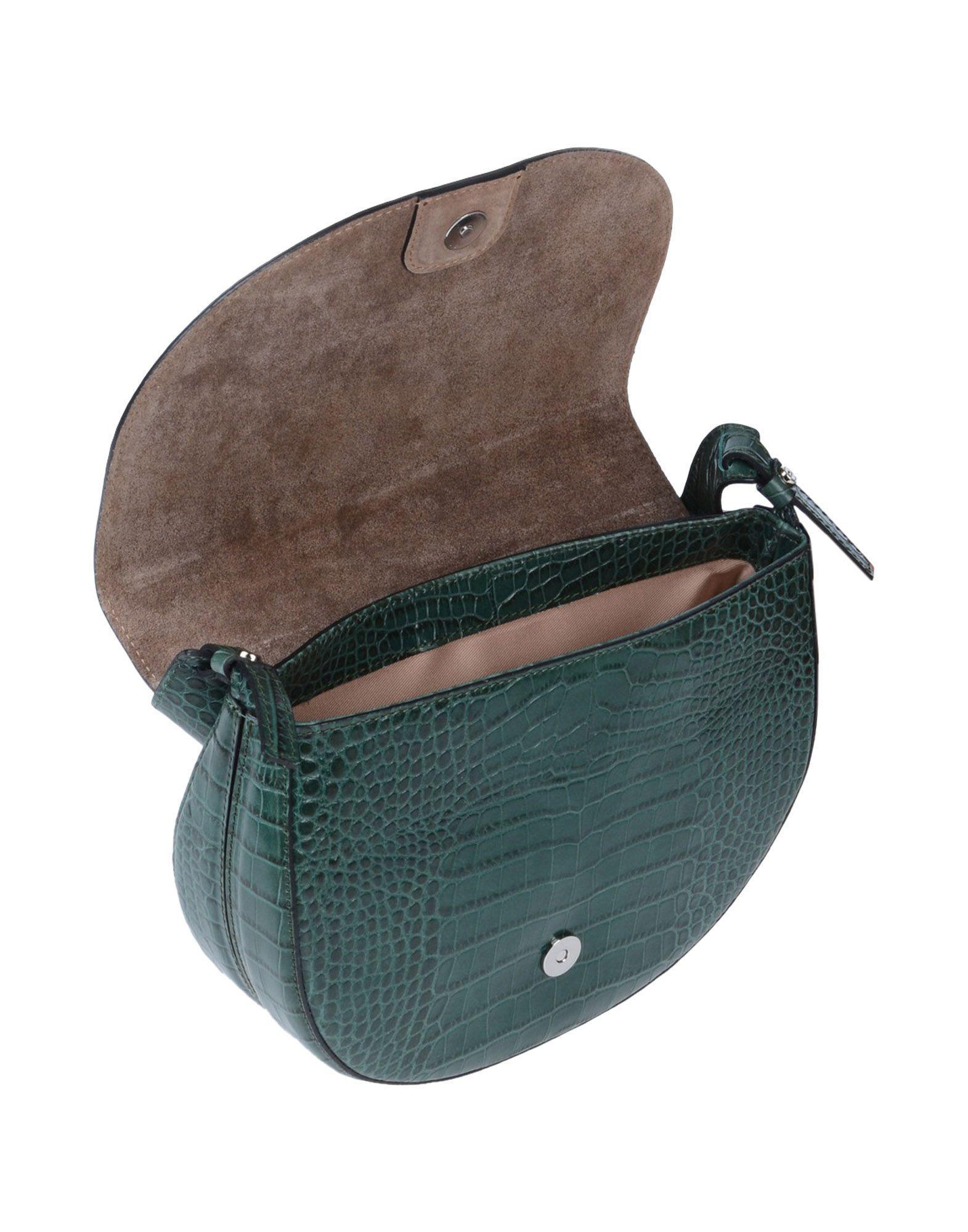 Gianni Chiarini Leather Cross-body Bags in Emerald Green (Green)