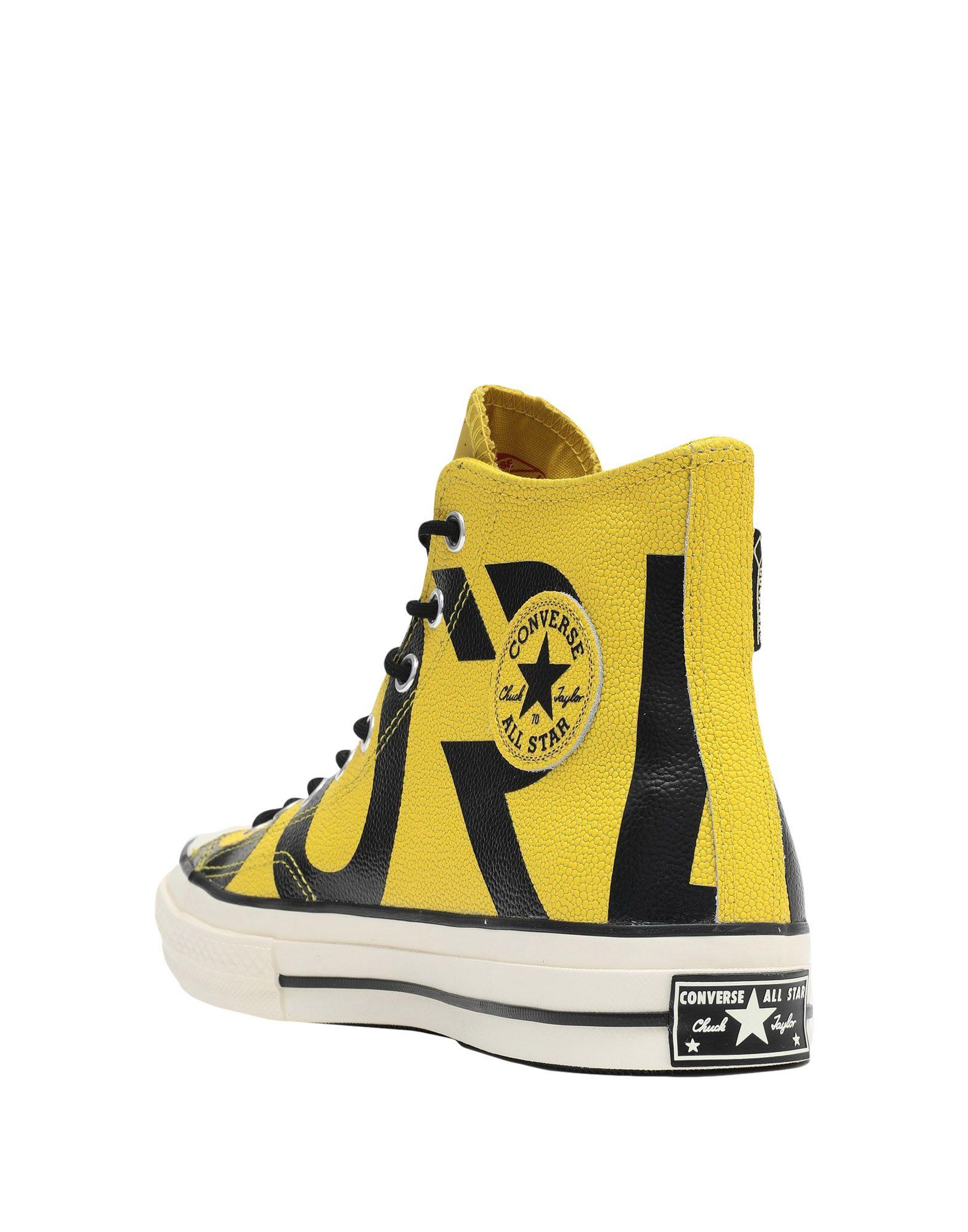 13cdeea3acc Converse High-tops   Sneakers in Yellow - Lyst
