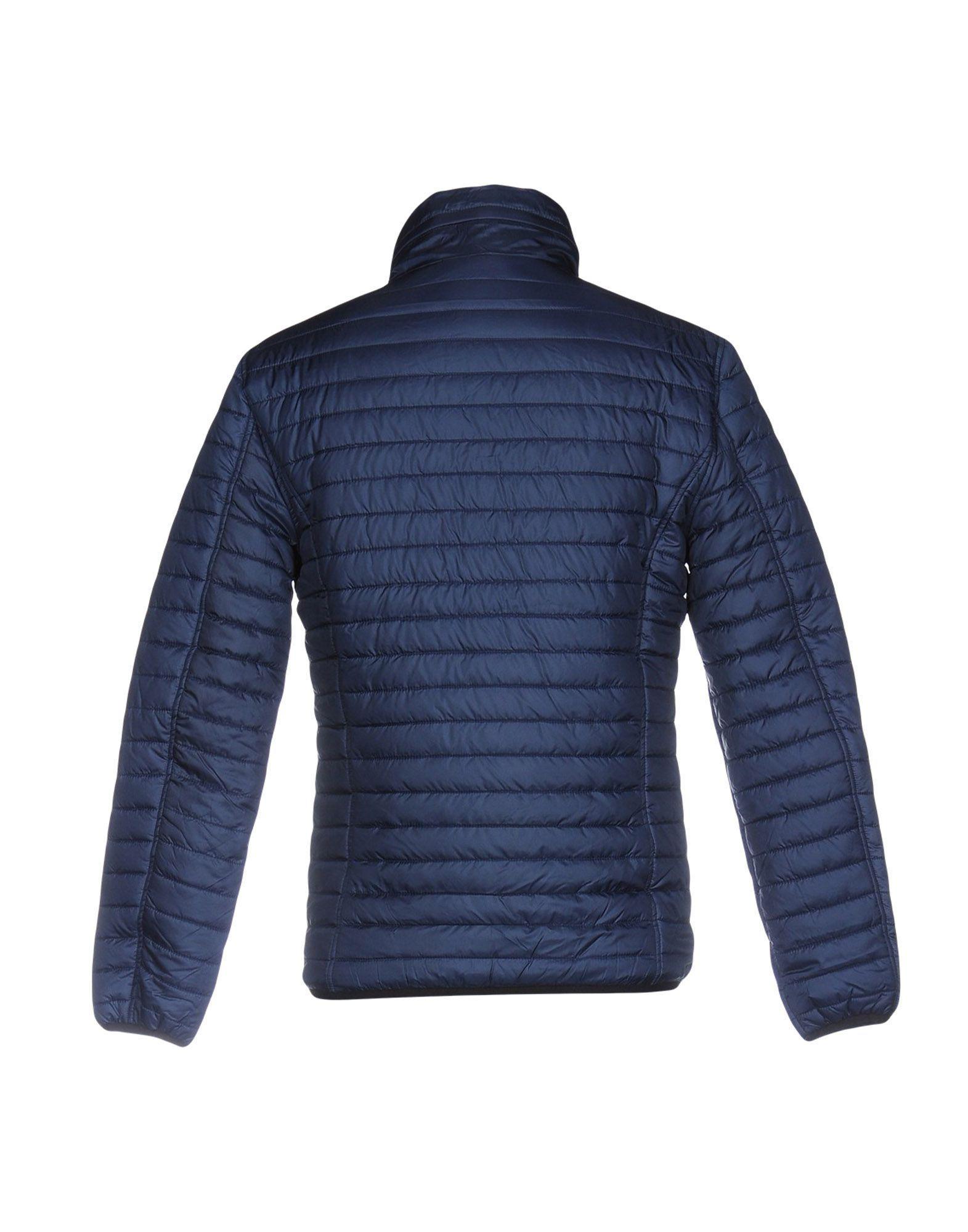 Grey Daniele Alessandrini Synthetic Jacket in Dark Blue (Blue) for Men