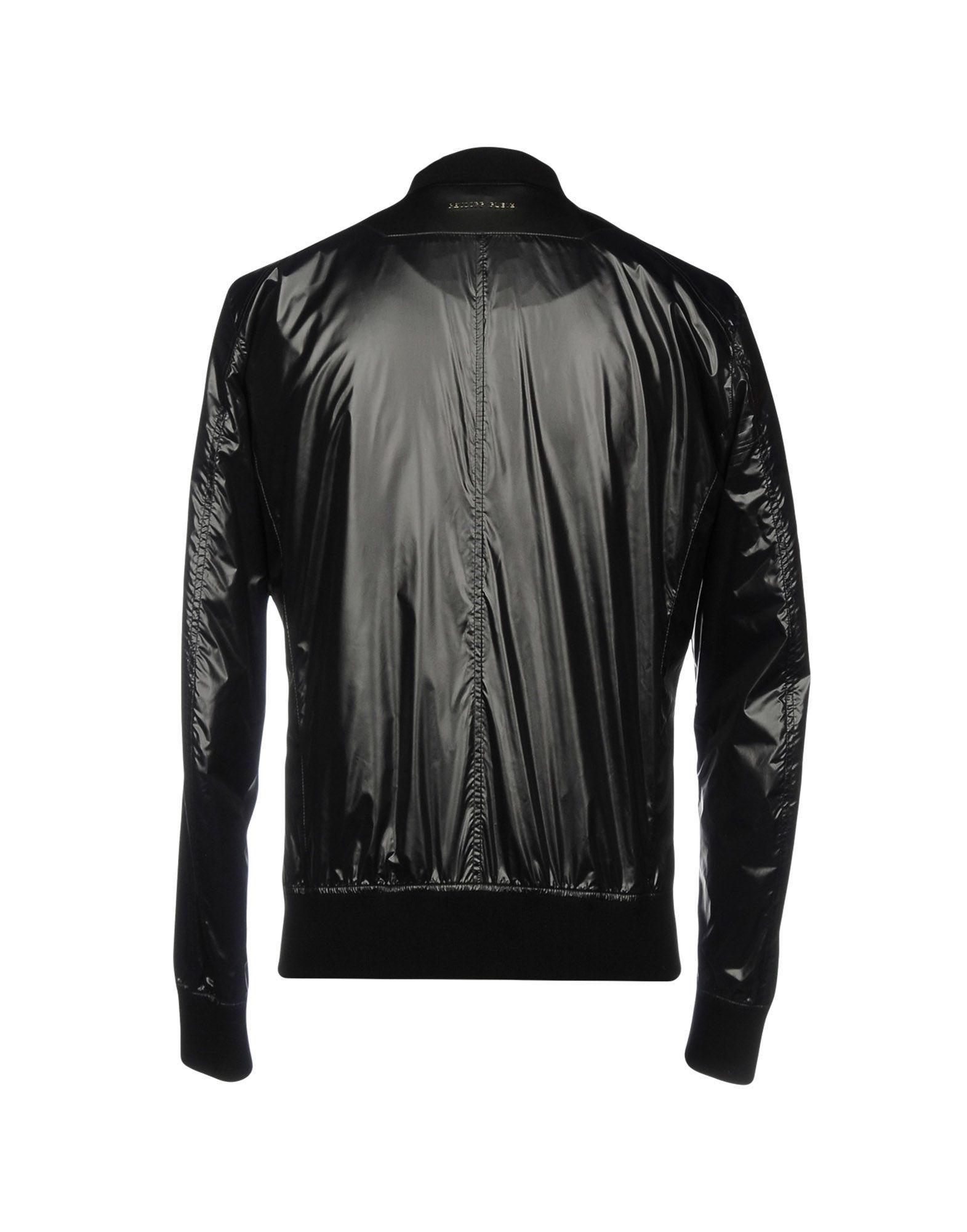 Philipp Plein Synthetic Jackets in Black for Men