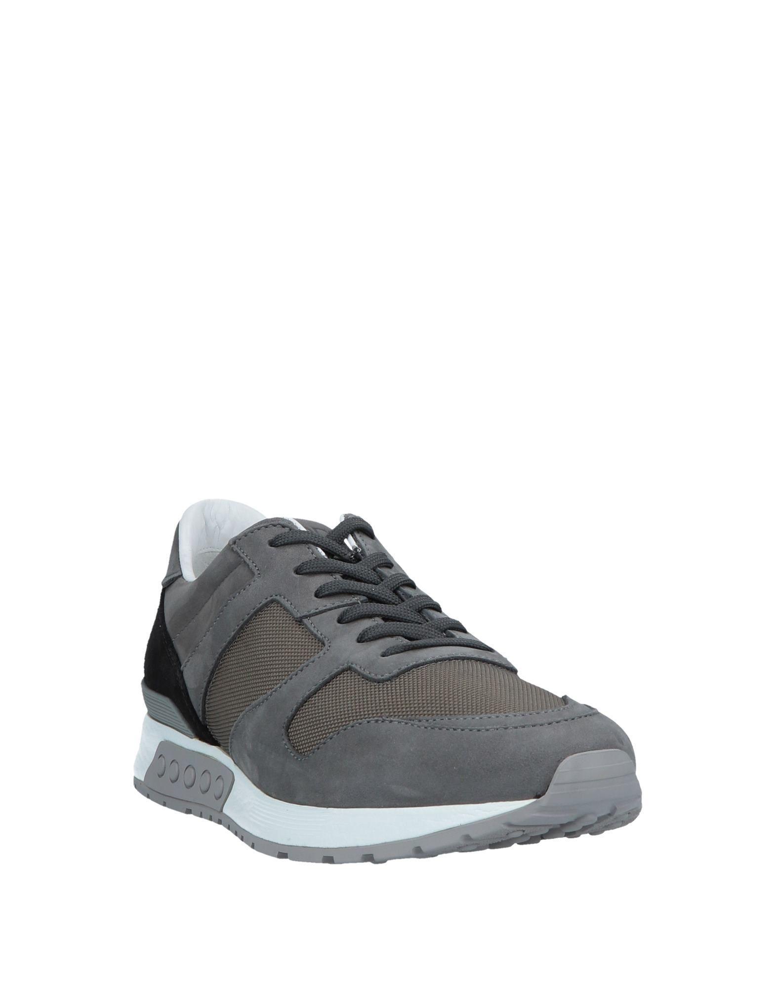 Tod's Leder Low Sneakers & Tennisschuhe in Grau für Herren qBWBa