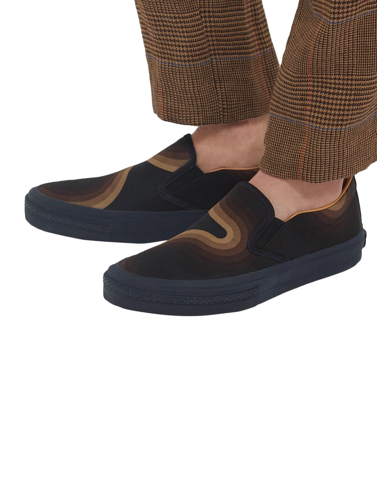 Sneakers & Deportivas Dries Van Noten de Lona de color Azul para hombre